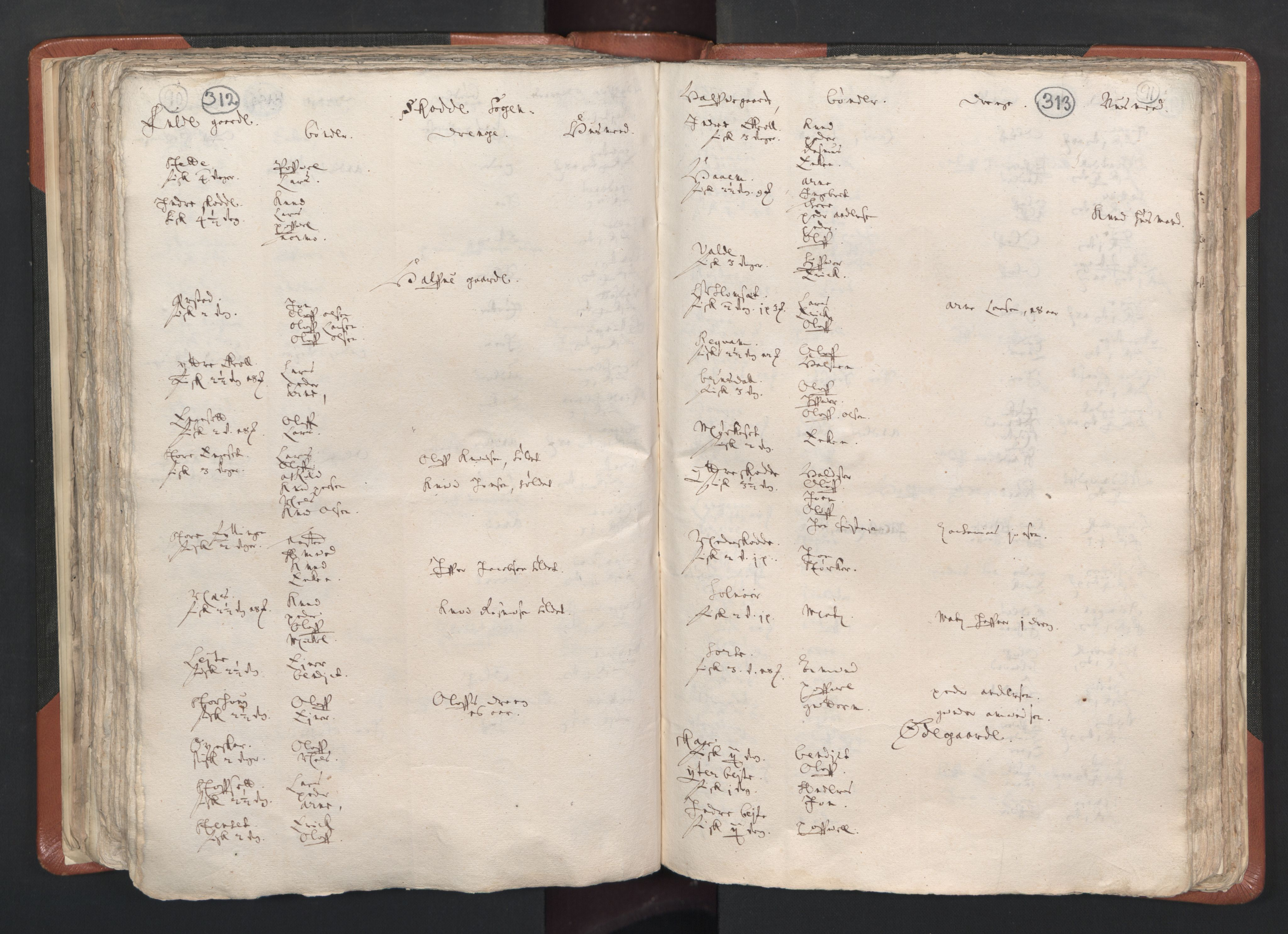 RA, Sogneprestenes manntall 1664-1666, nr. 26: Sunnmøre prosti, 1664-1666, s. 312-313