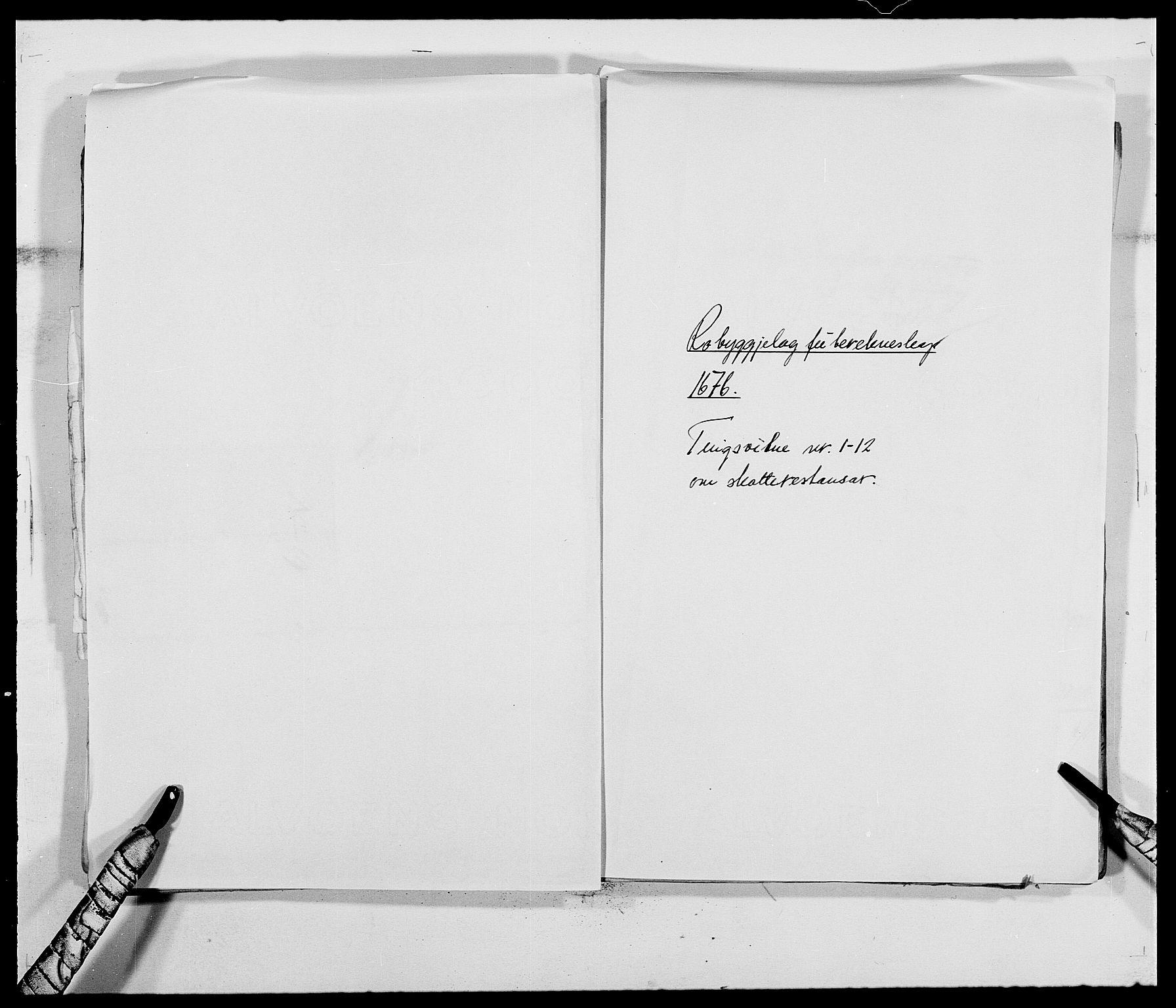 RA, Rentekammeret inntil 1814, Reviderte regnskaper, Fogderegnskap, R40/L2434: Fogderegnskap Råbyggelag, 1675-1676, s. 414