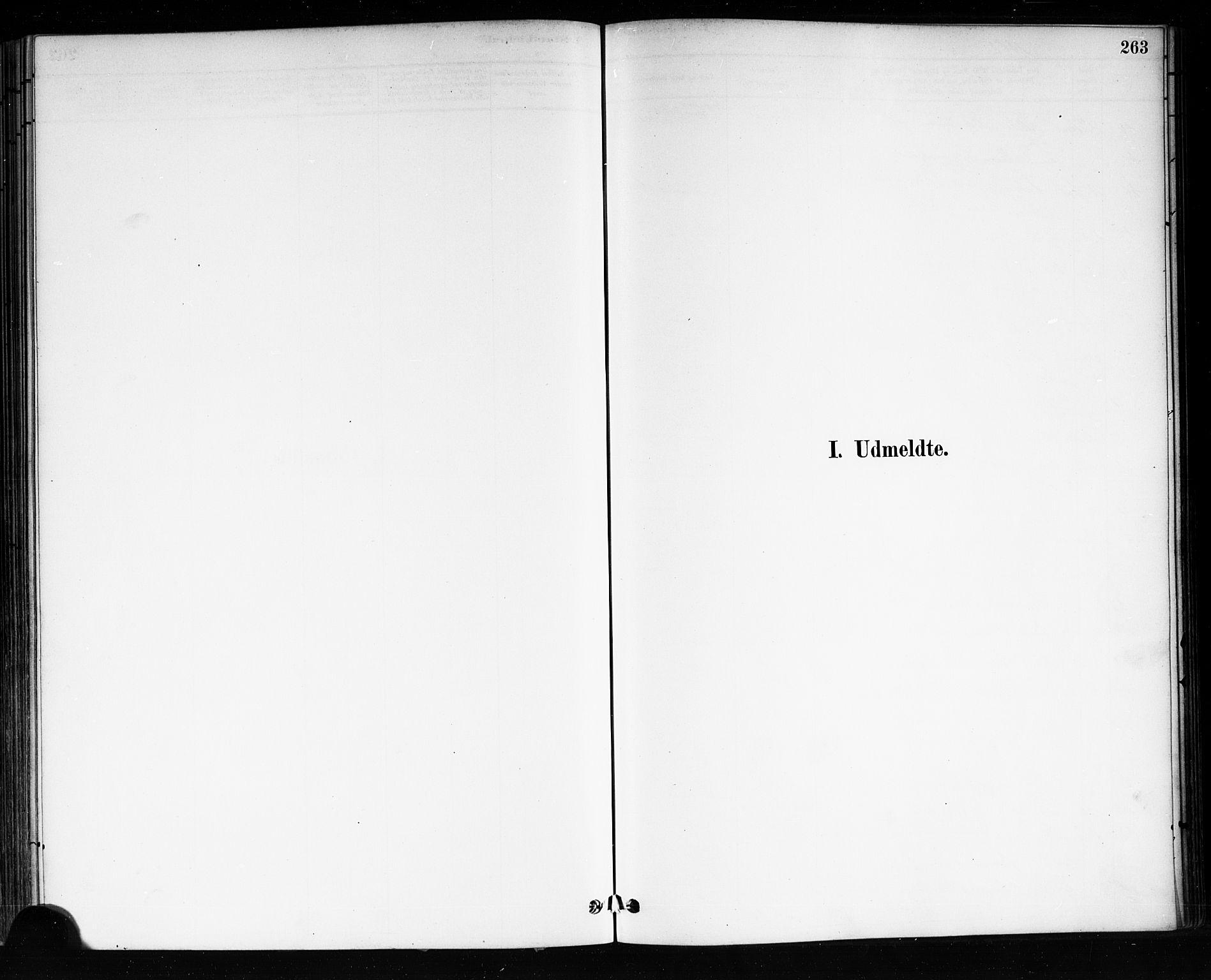 SAKO, Brevik kirkebøker, F/Fa/L0007: Ministerialbok nr. 7, 1882-1900, s. 263