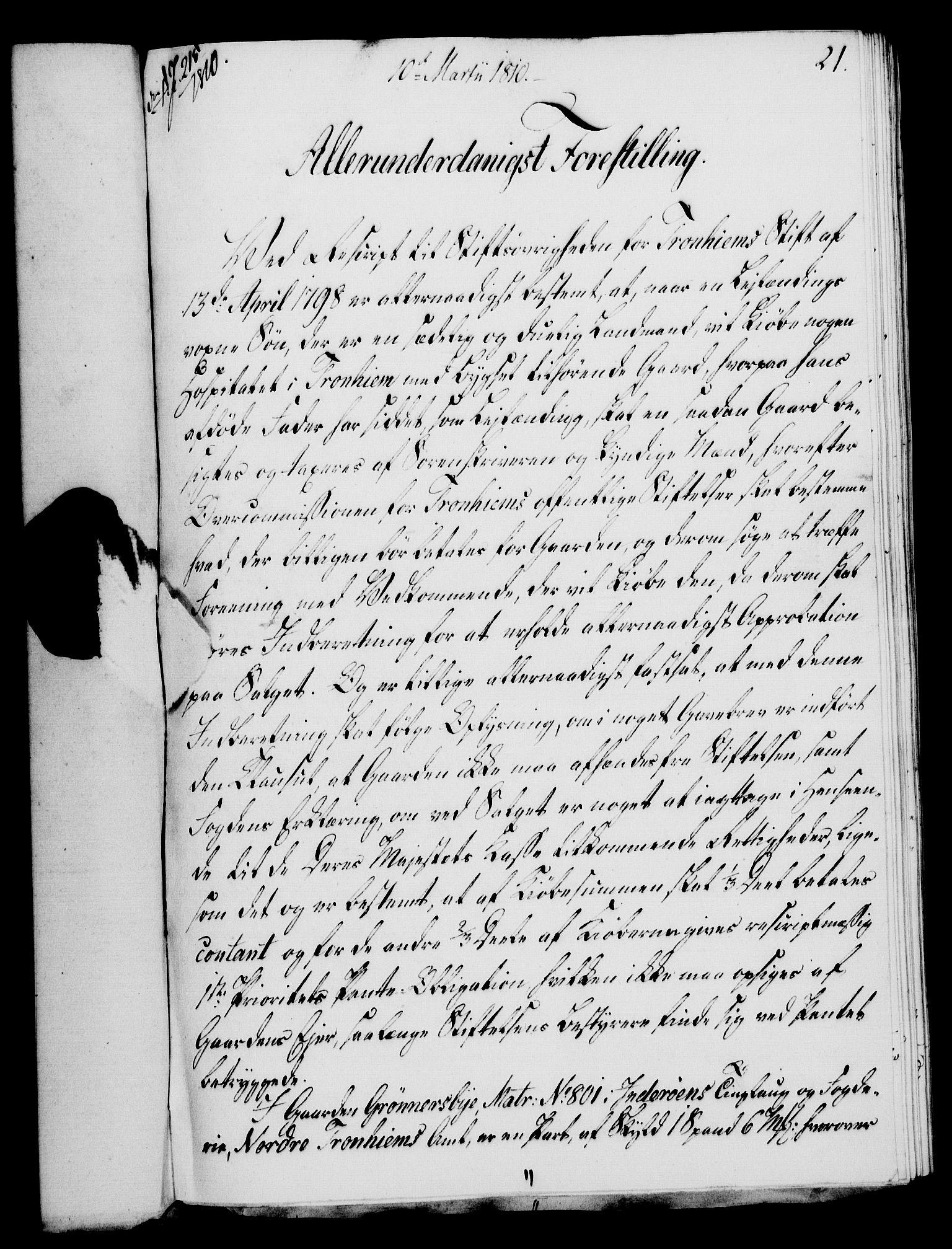 RA, Rentekammeret, Kammerkanselliet, G/Gf/Gfa/L0092: Norsk relasjons- og resolusjonsprotokoll (merket RK 52.92), 1810, s. 76