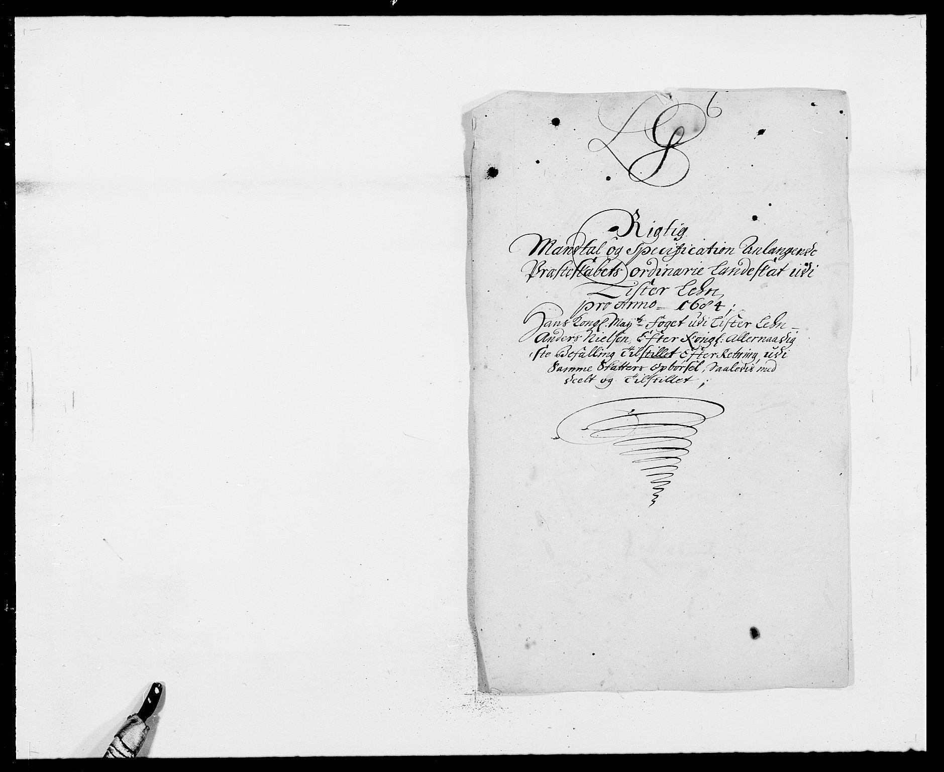 RA, Rentekammeret inntil 1814, Reviderte regnskaper, Fogderegnskap, R41/L2533: Fogderegnskap Lista, 1684-1685, s. 142