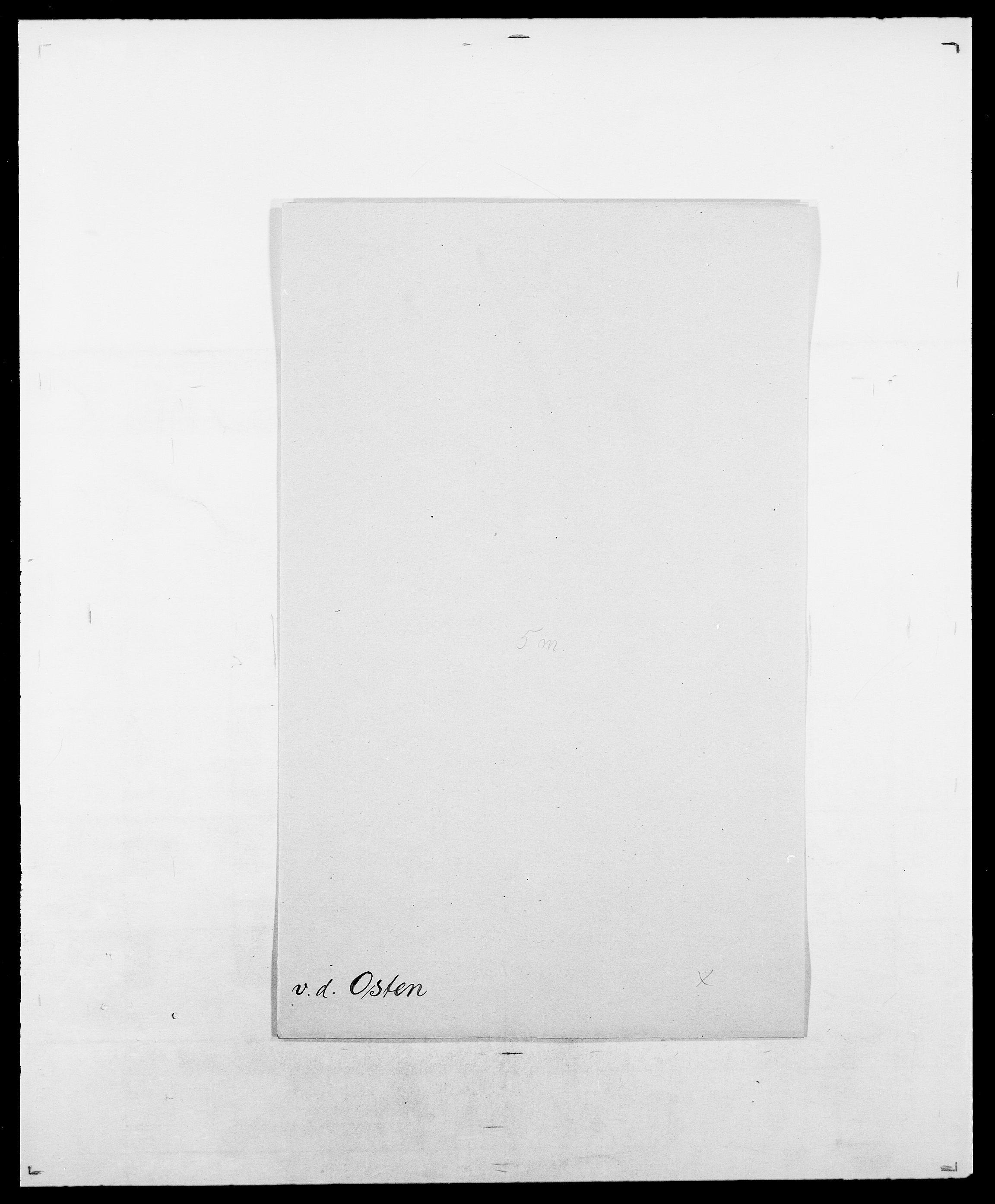 SAO, Delgobe, Charles Antoine - samling, D/Da/L0029: Obel - Oxholm, s. 440