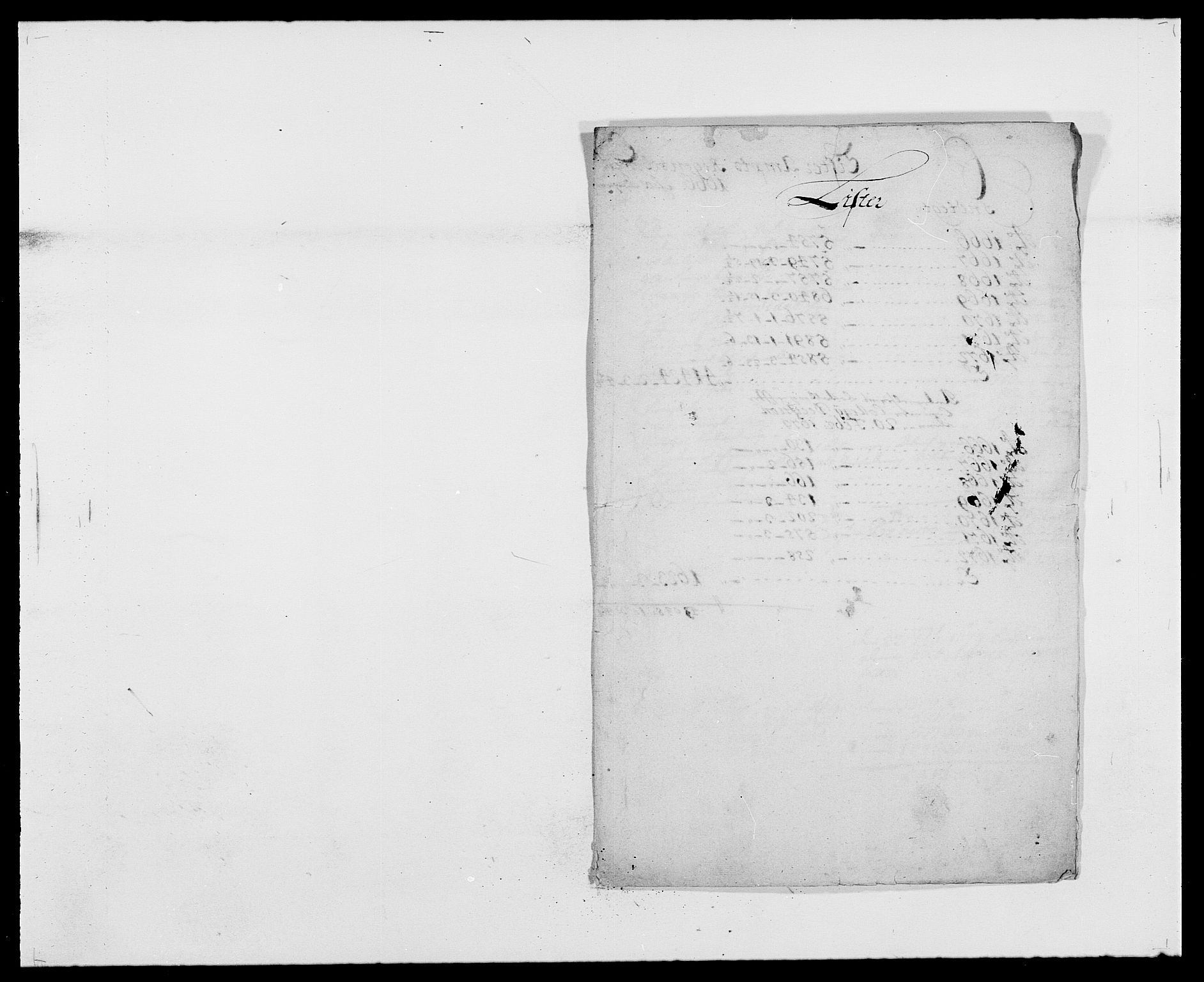 RA, Rentekammeret inntil 1814, Reviderte regnskaper, Fogderegnskap, R41/L2526: Fogderegnskap Lista, 1672, s. 226