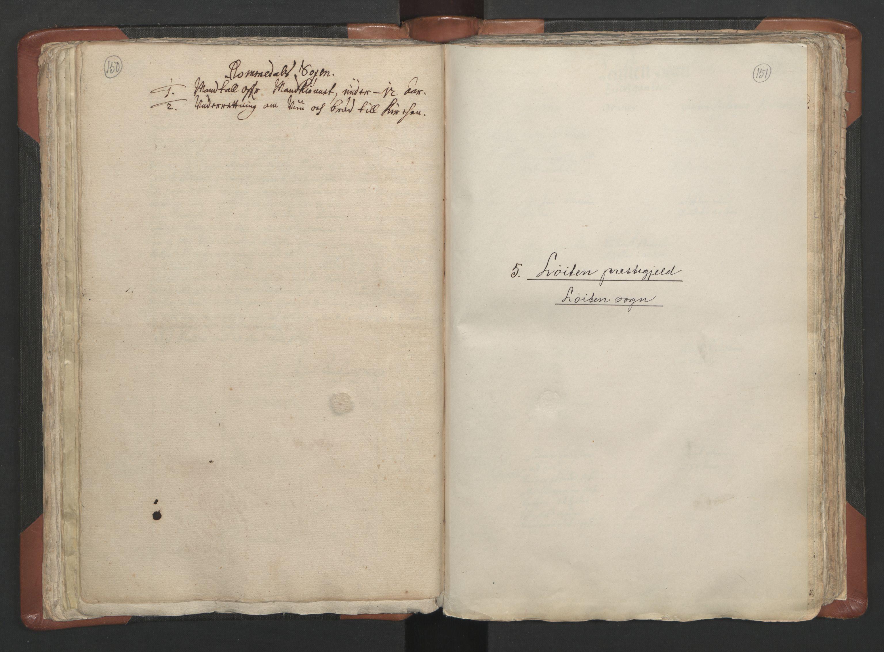 RA, Sogneprestenes manntall 1664-1666, nr. 5: Hedmark prosti, 1664-1666, s. 150-151