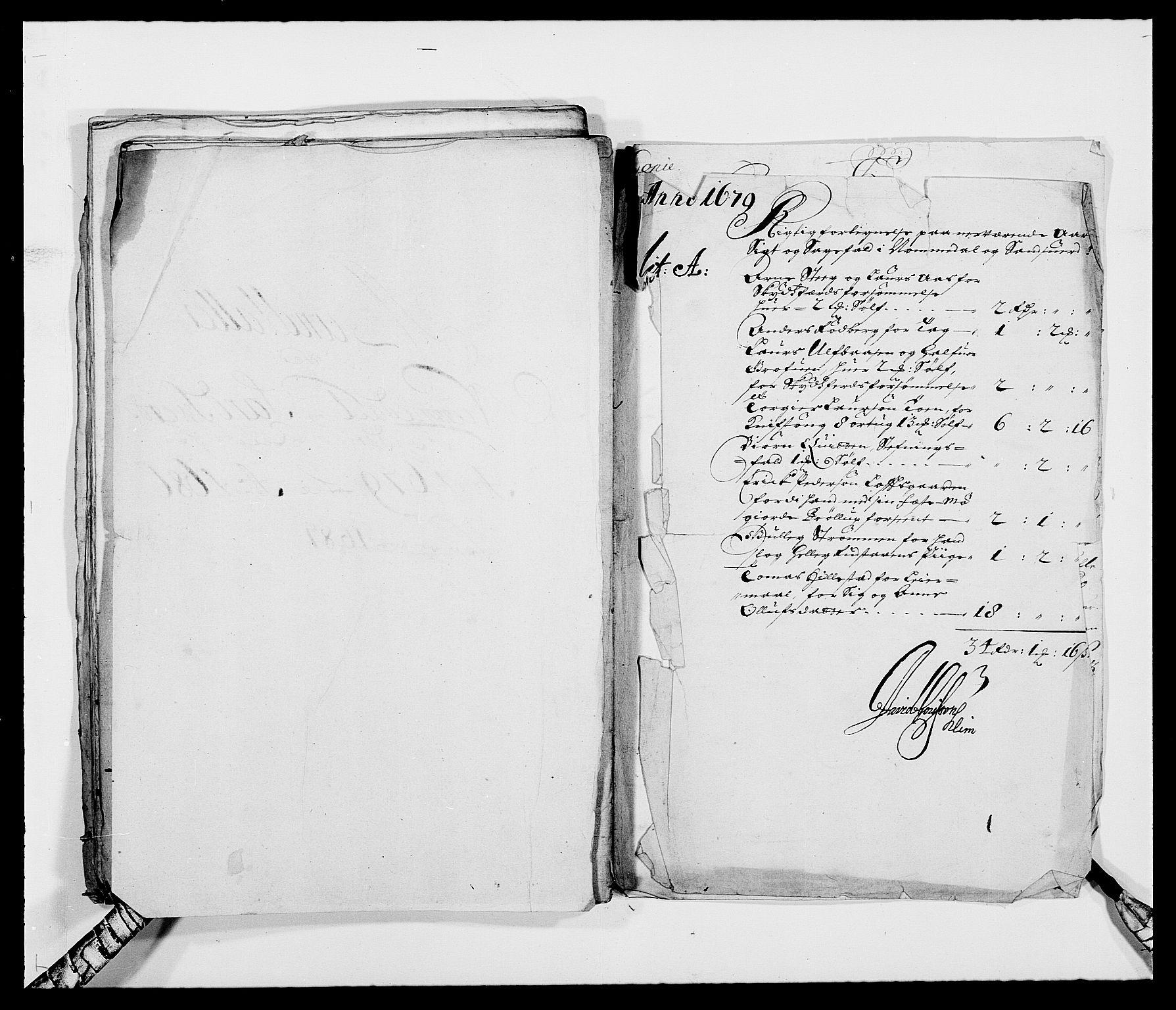 RA, Rentekammeret inntil 1814, Reviderte regnskaper, Fogderegnskap, R24/L1569: Fogderegnskap Numedal og Sandsvær, 1679-1686, s. 93