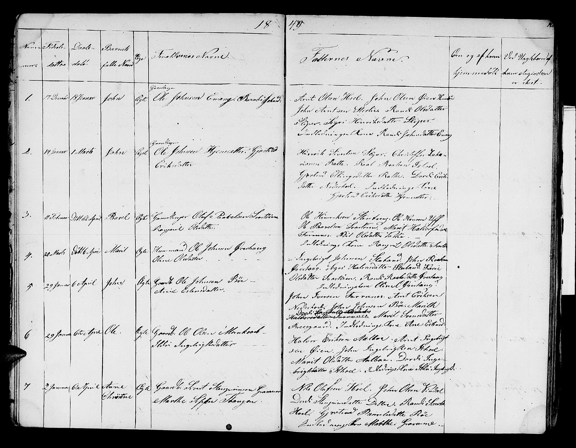 SAT, Ministerialprotokoller, klokkerbøker og fødselsregistre - Sør-Trøndelag, 679/L0922: Klokkerbok nr. 679C02, 1845-1851, s. 12