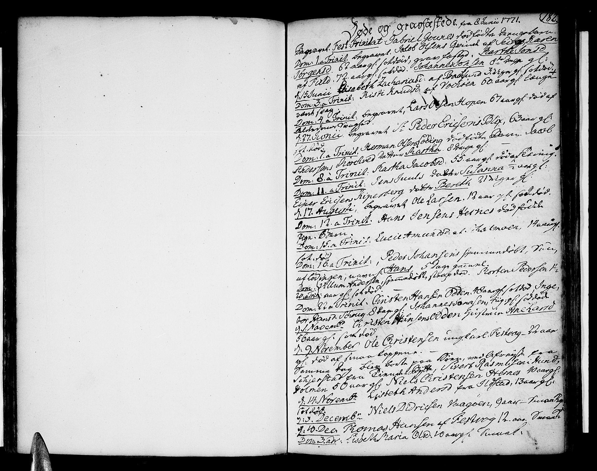 SAT, Ministerialprotokoller, klokkerbøker og fødselsregistre - Nordland, 801/L0003: Ministerialbok nr. 801A03, 1762-1795, s. 182