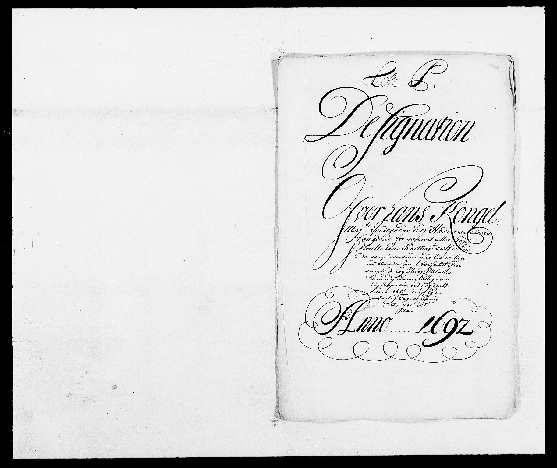 RA, Rentekammeret inntil 1814, Reviderte regnskaper, Fogderegnskap, R16/L1031: Fogderegnskap Hedmark, 1689-1692, s. 39
