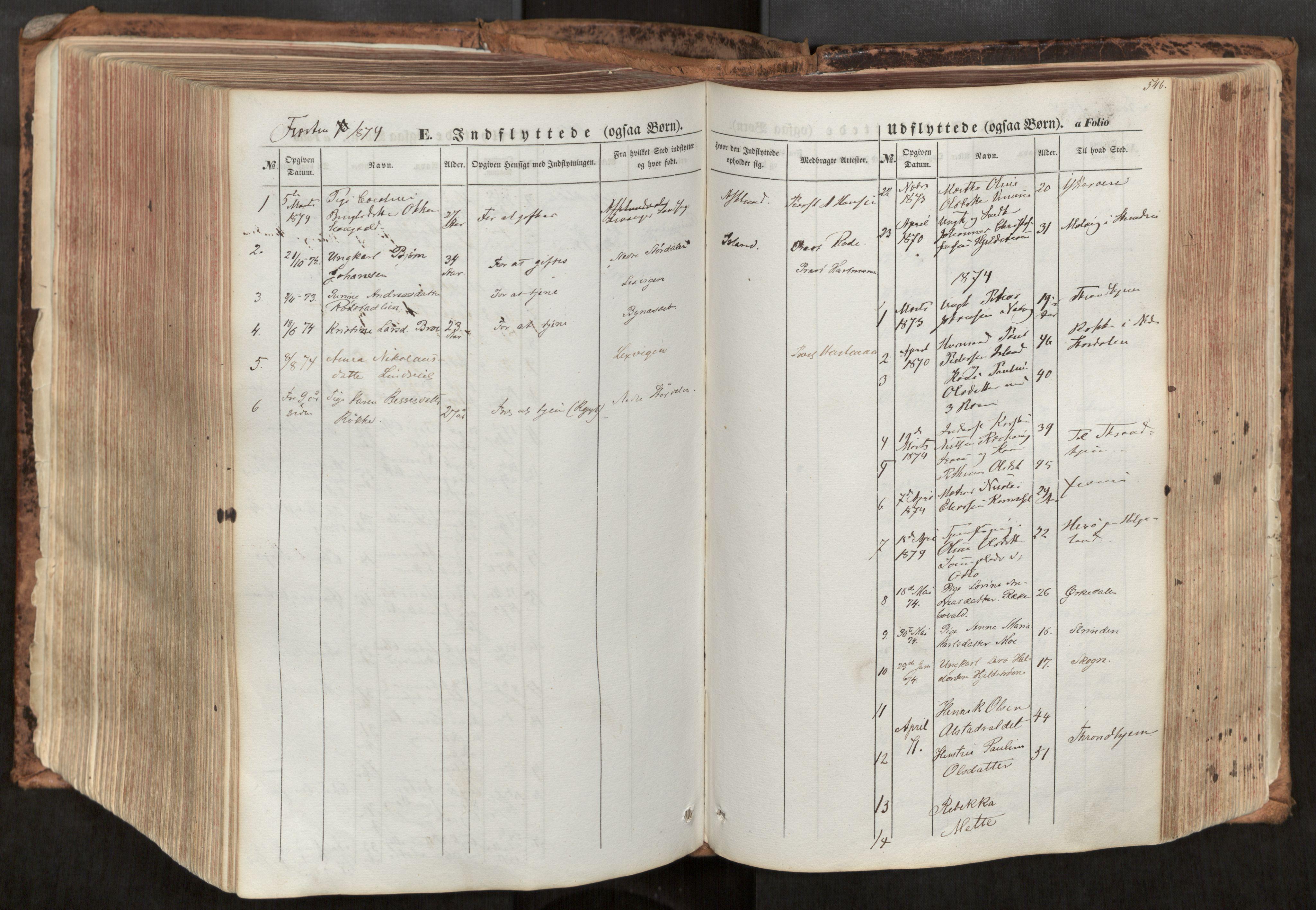 SAT, Ministerialprotokoller, klokkerbøker og fødselsregistre - Nord-Trøndelag, 713/L0116: Ministerialbok nr. 713A07, 1850-1877, s. 546