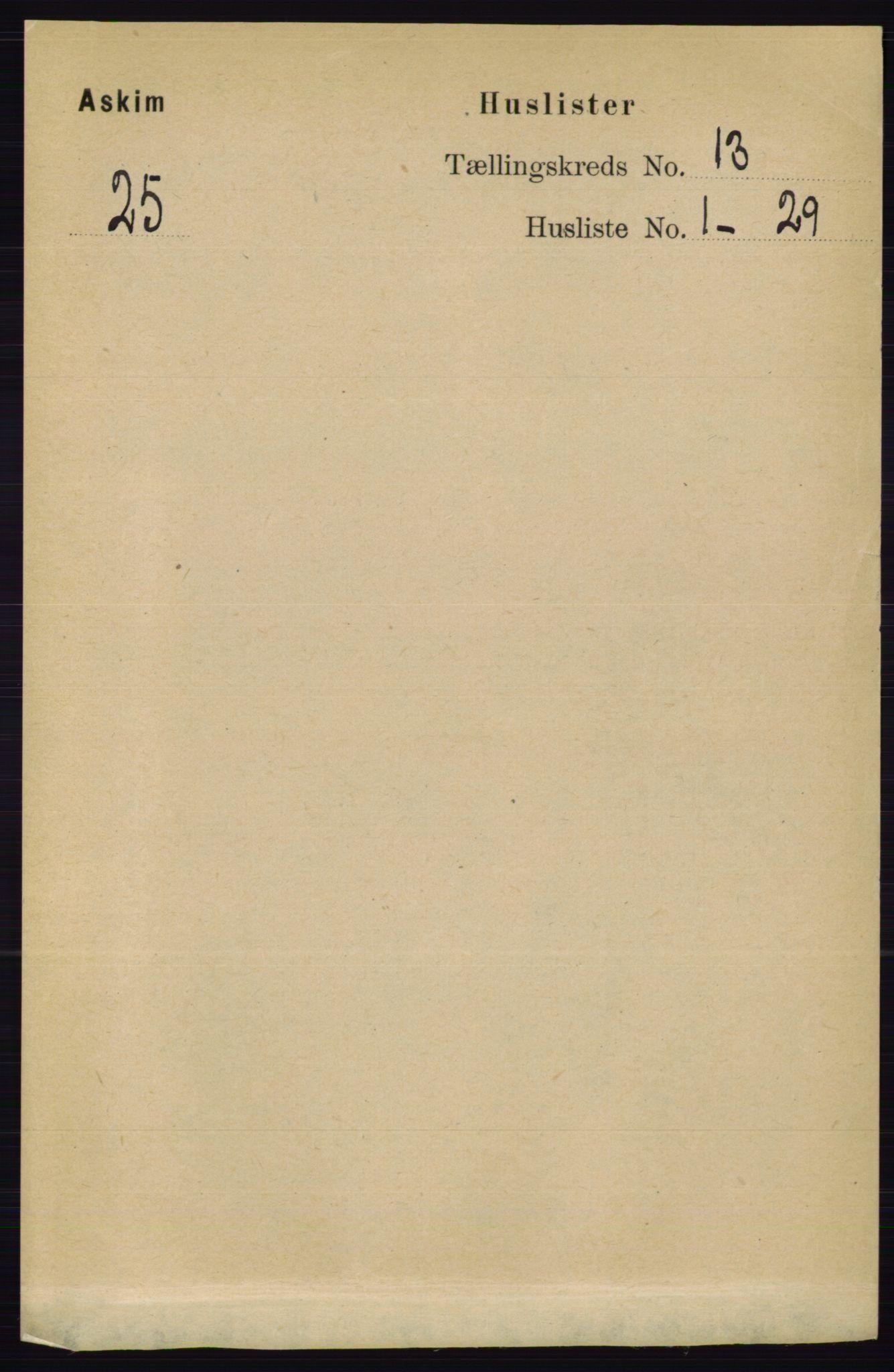 RA, Folketelling 1891 for 0124 Askim herred, 1891, s. 2010