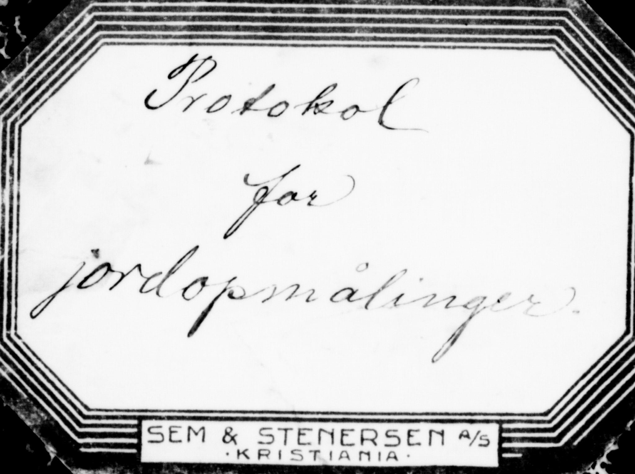 FIEI, Lensmannen i Hasvik (hos Finnmarkseiendommen)*, 1927-1938