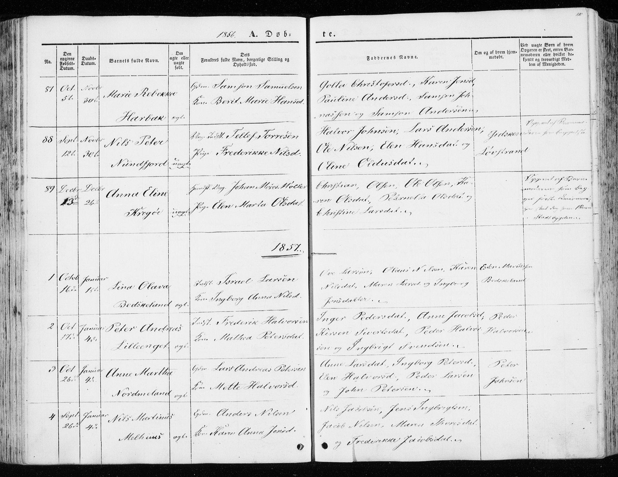 SAT, Ministerialprotokoller, klokkerbøker og fødselsregistre - Sør-Trøndelag, 657/L0704: Ministerialbok nr. 657A05, 1846-1857, s. 110