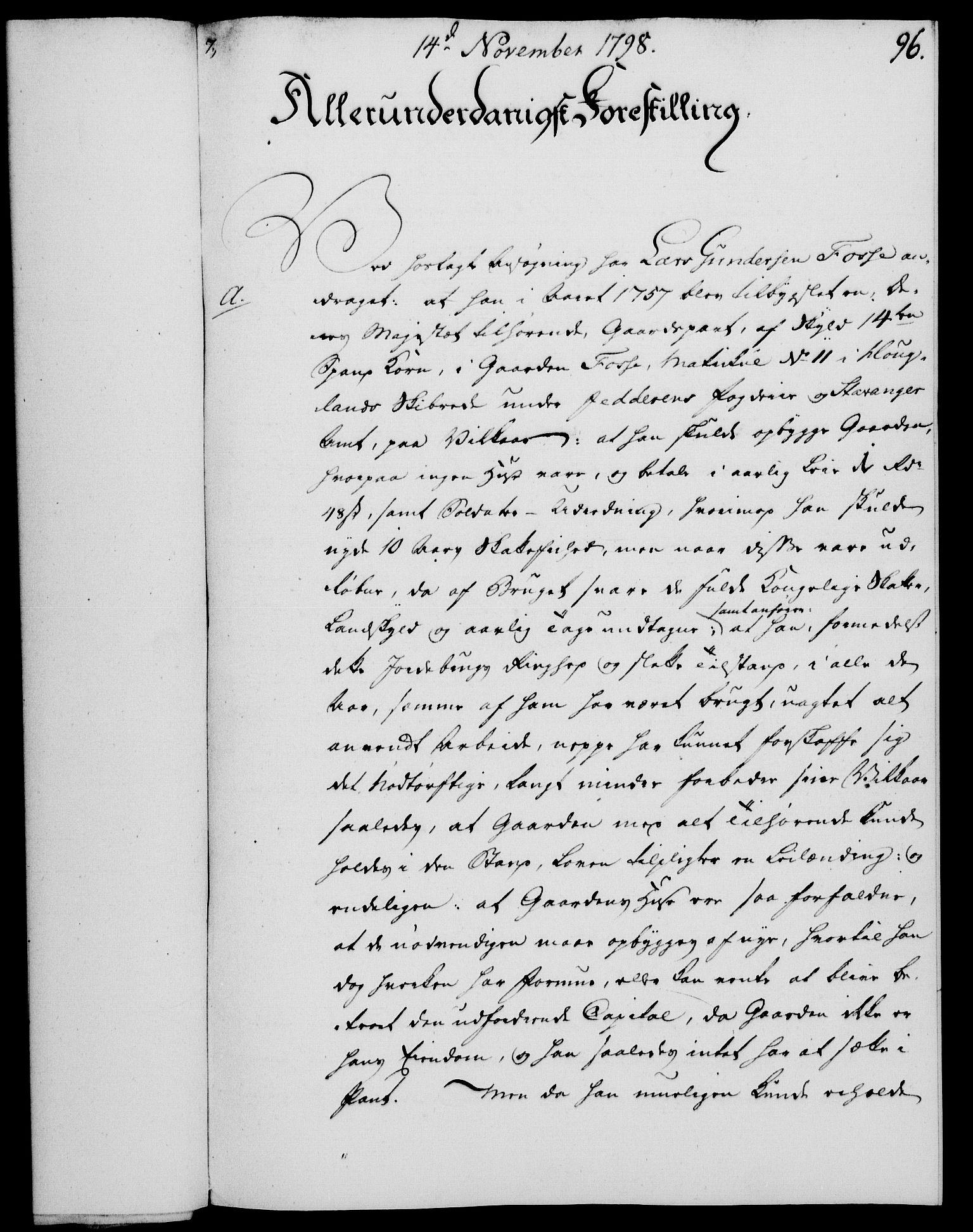 RA, Rentekammeret, Kammerkanselliet, G/Gf/Gfa/L0080: Norsk relasjons- og resolusjonsprotokoll (merket RK 52.80), 1798, s. 611