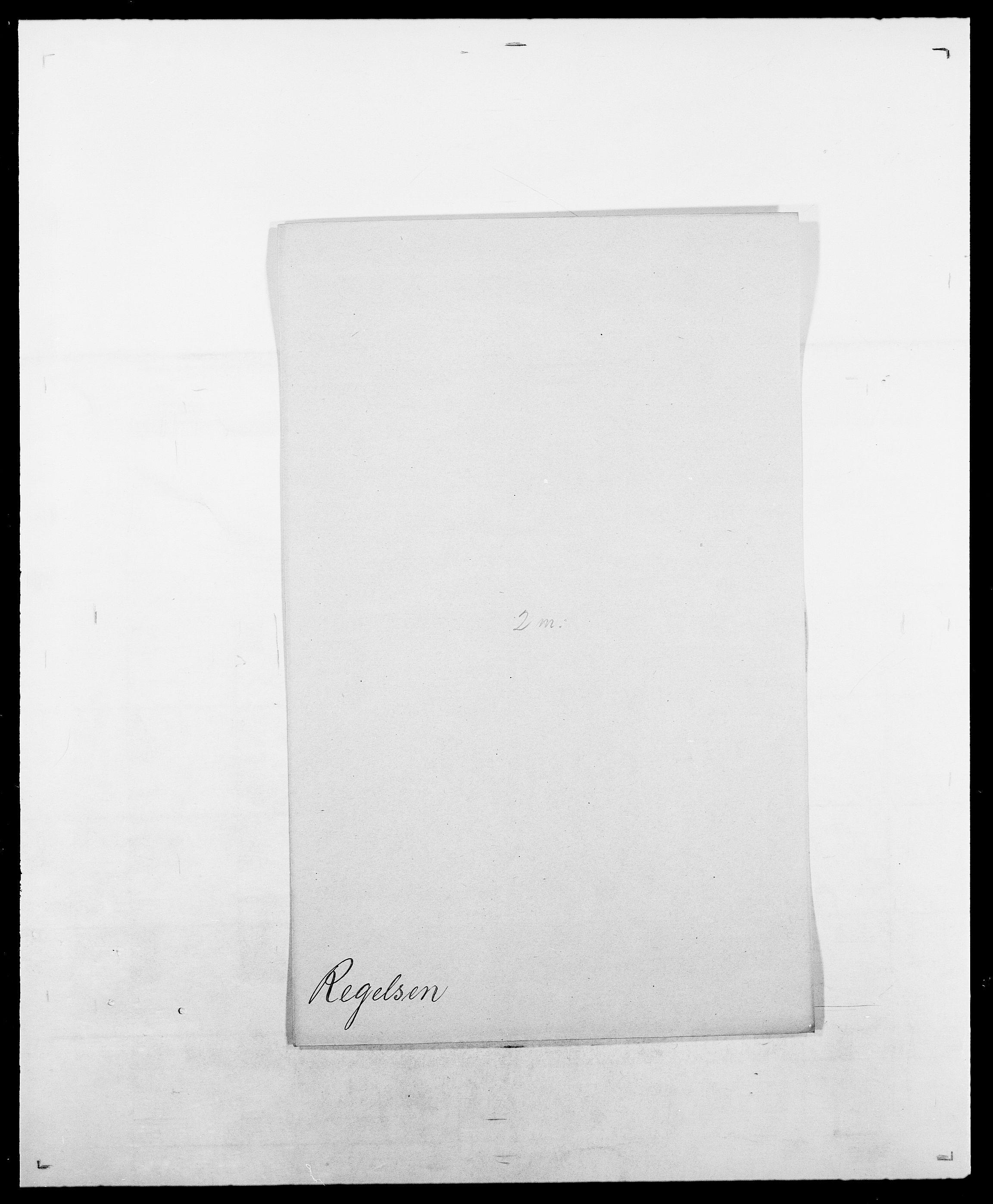 SAO, Delgobe, Charles Antoine - samling, D/Da/L0032: Rabakovsky - Rivertz, s. 266