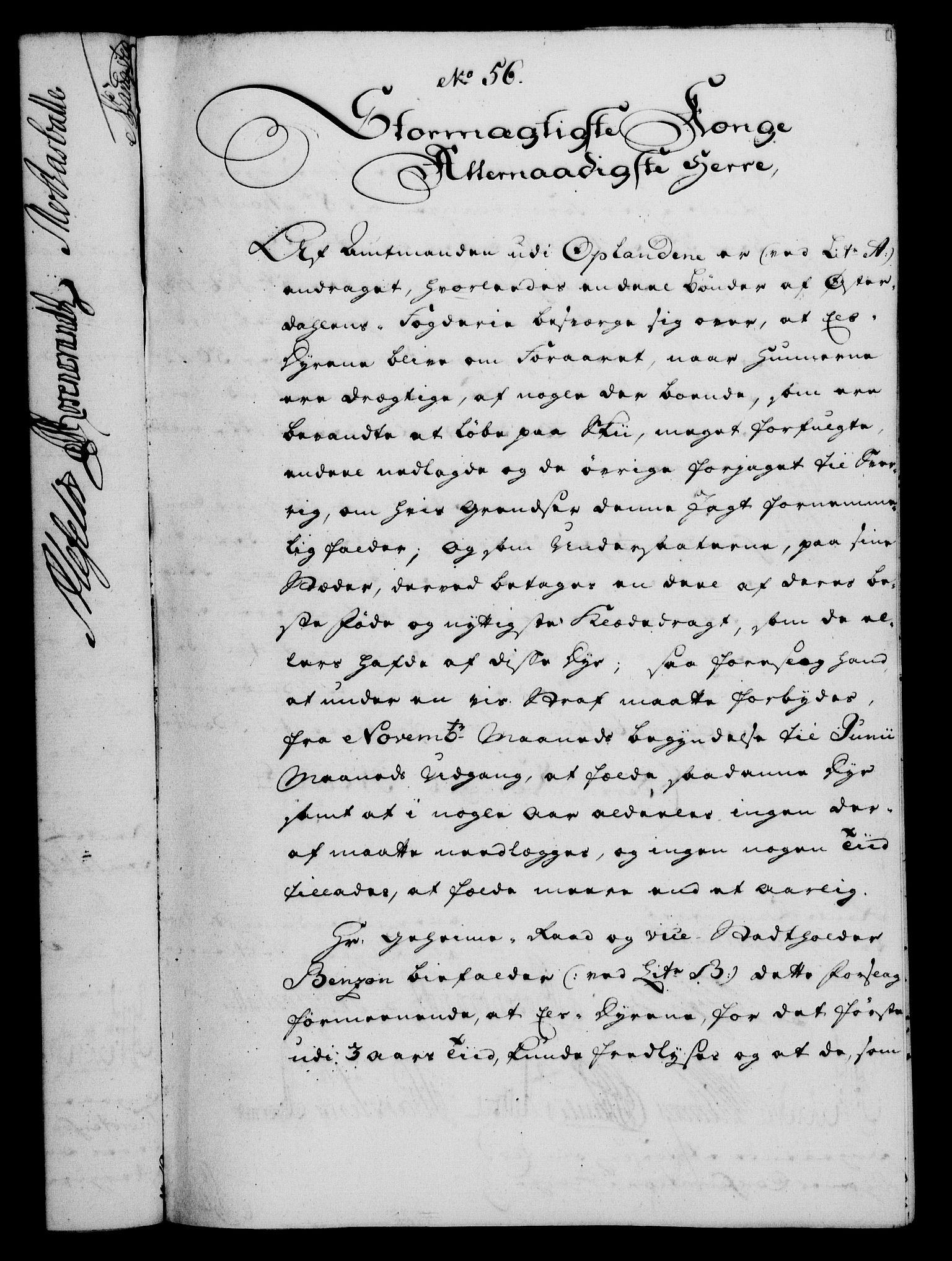 RA, Rentekammeret, Kammerkanselliet, G/Gf/Gfa/L0042: Norsk relasjons- og resolusjonsprotokoll (merket RK 52.42), 1760, s. 225