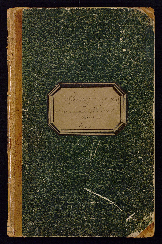 BBA, Bergens Mekaniske Verksteds skole, K/L0001: Avgangsprøveprotokoll, 1893-1915