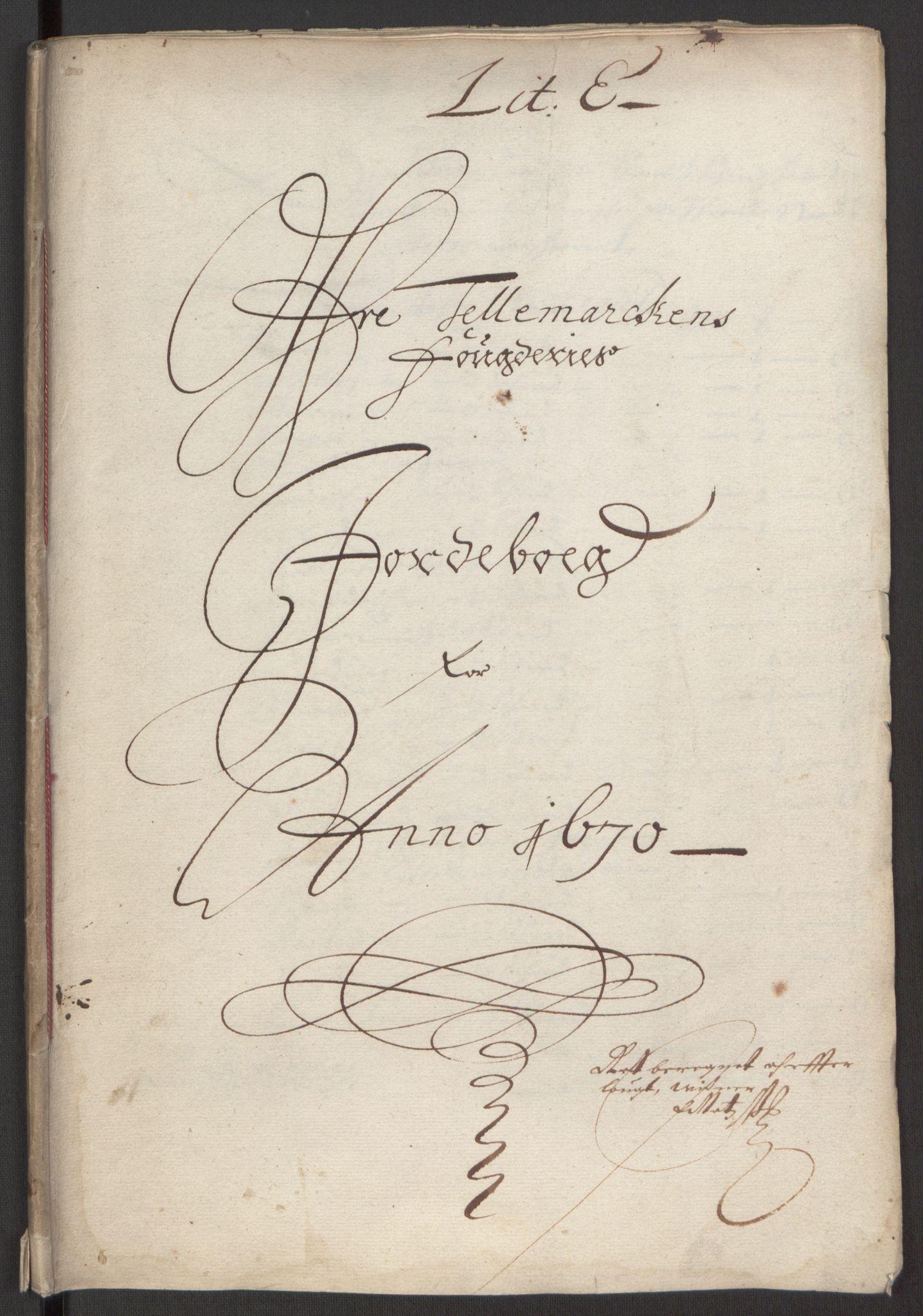 RA, Rentekammeret inntil 1814, Reviderte regnskaper, Fogderegnskap, R35/L2059: Fogderegnskap Øvre og Nedre Telemark, 1668-1670, s. 226