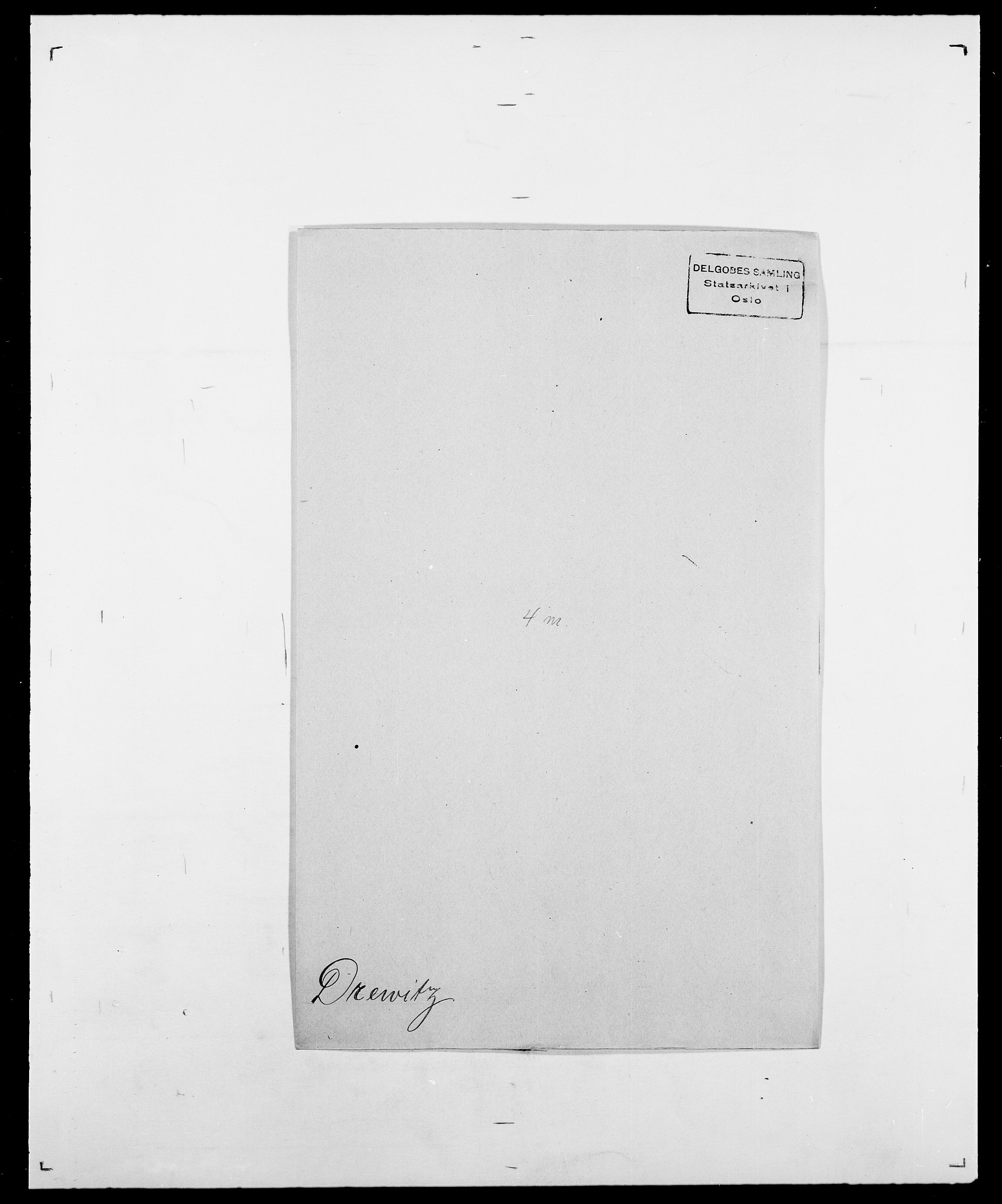 SAO, Delgobe, Charles Antoine - samling, D/Da/L0009: Dahl - v. Düren, s. 776