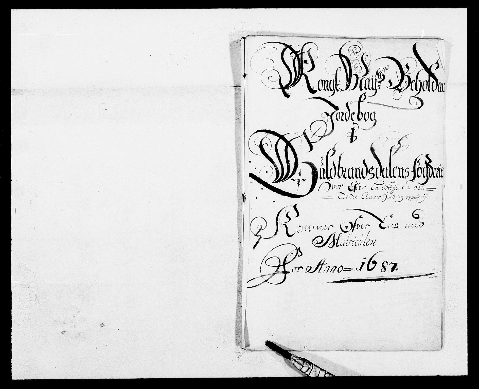 RA, Rentekammeret inntil 1814, Reviderte regnskaper, Fogderegnskap, R17/L1162: Fogderegnskap Gudbrandsdal, 1682-1689, s. 32