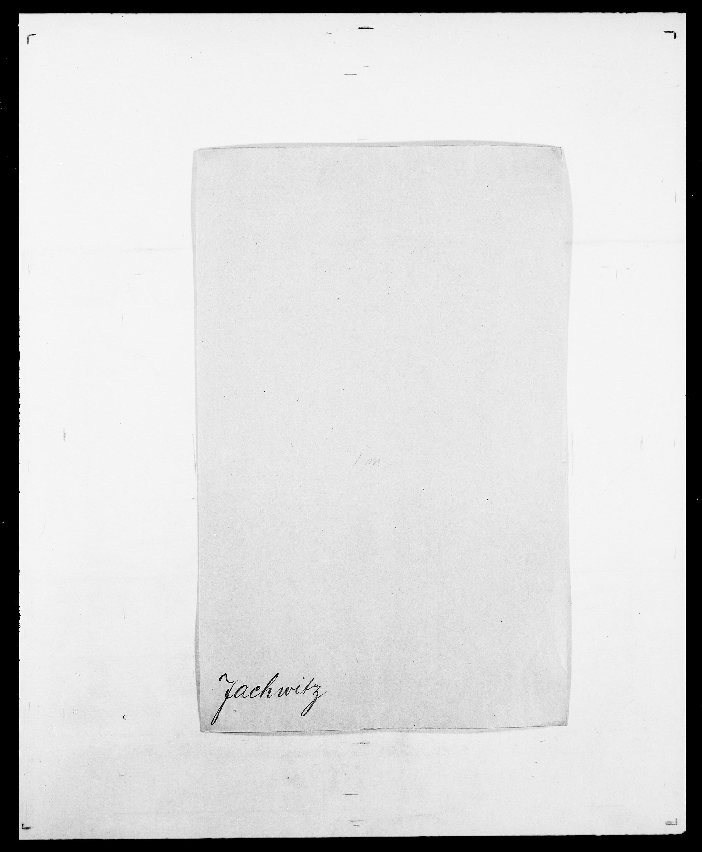 SAO, Delgobe, Charles Antoine - samling, D/Da/L0019: van der Hude - Joys, s. 468