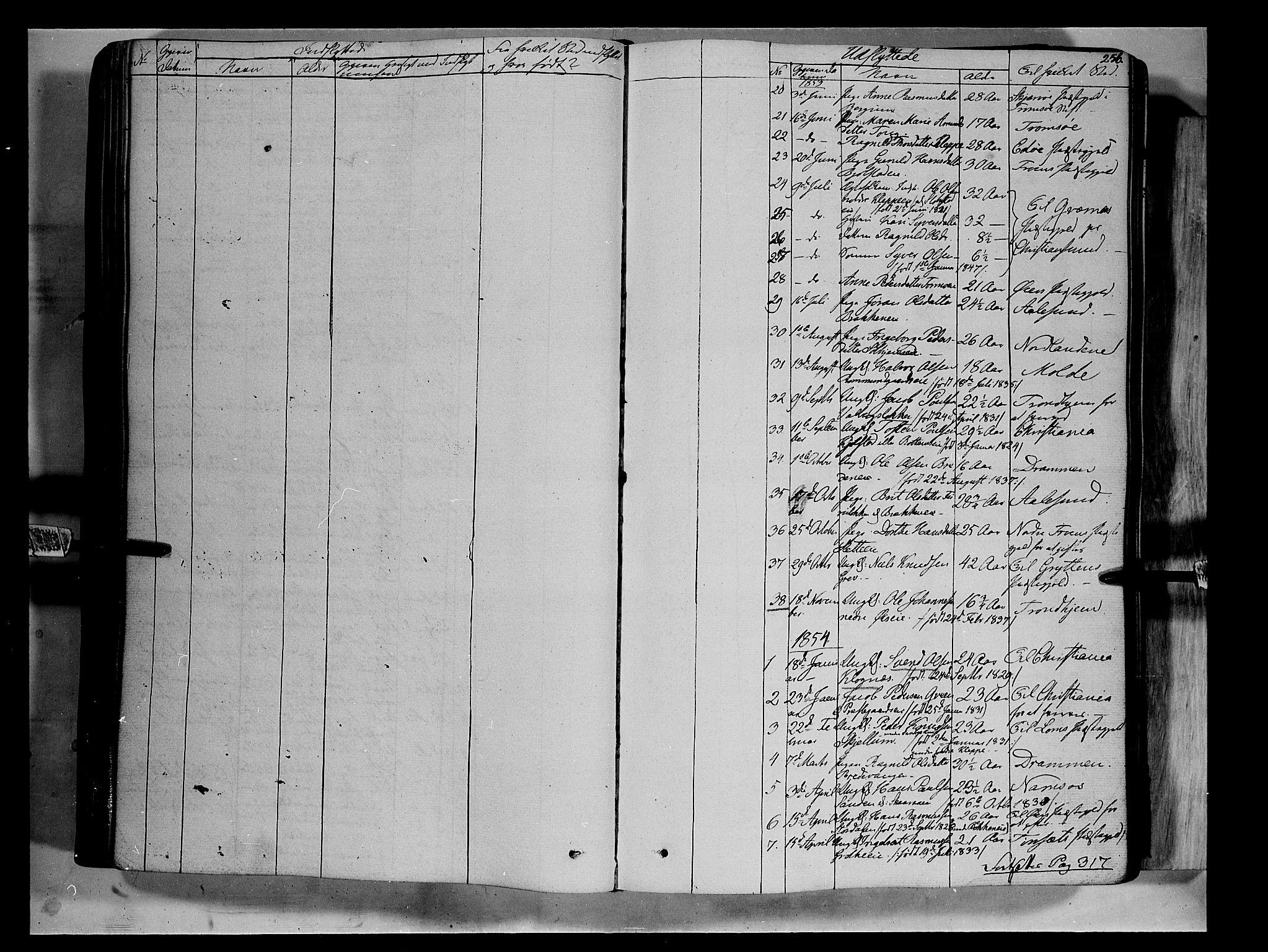 SAH, Vågå prestekontor, Ministerialbok nr. 5 /1, 1842-1856, s. 256