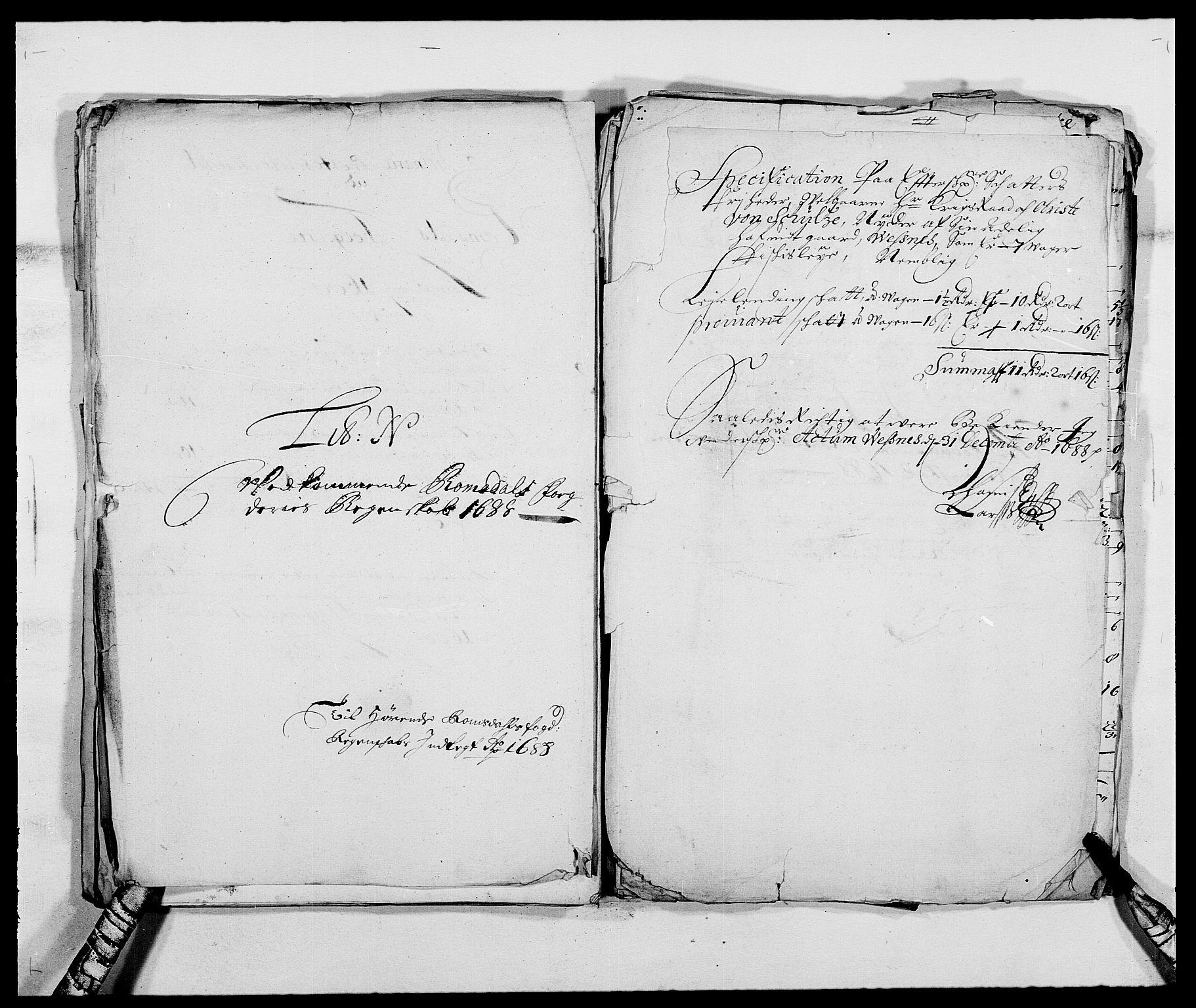 RA, Rentekammeret inntil 1814, Reviderte regnskaper, Fogderegnskap, R55/L3648: Fogderegnskap Romsdal, 1687-1689, s. 290