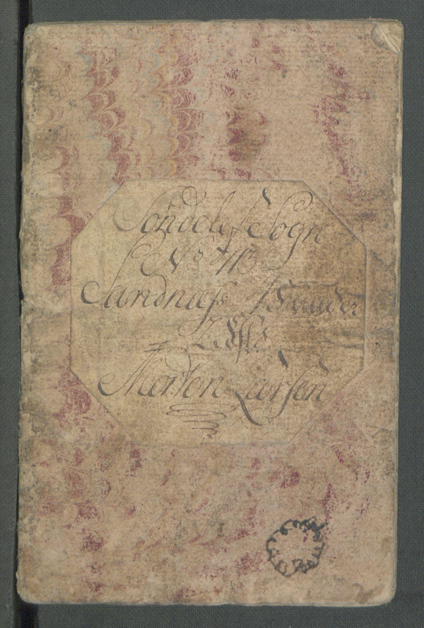 RA, Rentekammeret inntil 1814, Realistisk ordnet avdeling, Od/L0001: Oppløp, 1786-1769, s. 717