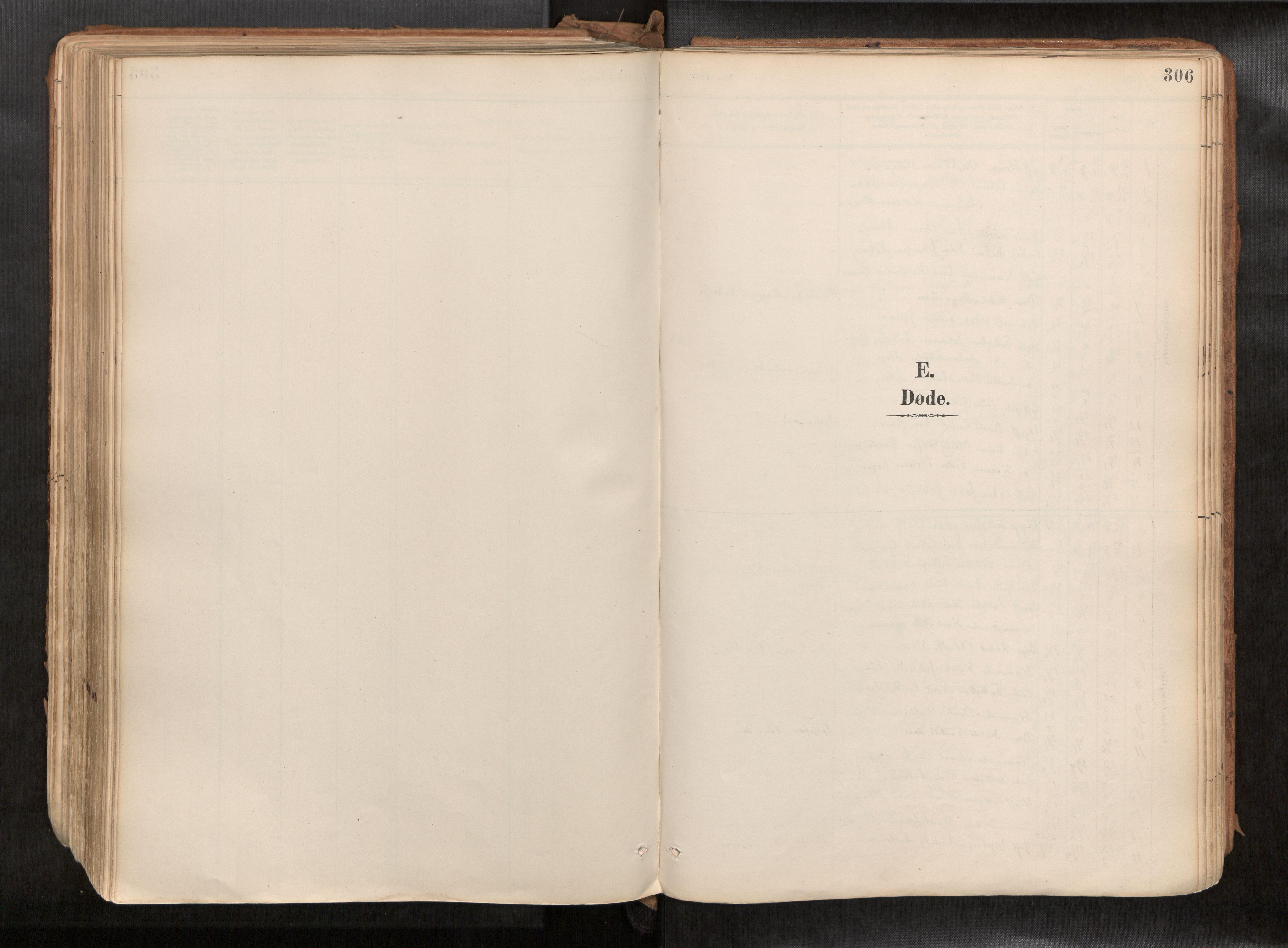 SAT, Ministerialprotokoller, klokkerbøker og fødselsregistre - Sør-Trøndelag, 692/L1105b: Ministerialbok nr. 692A06, 1891-1934, s. 306