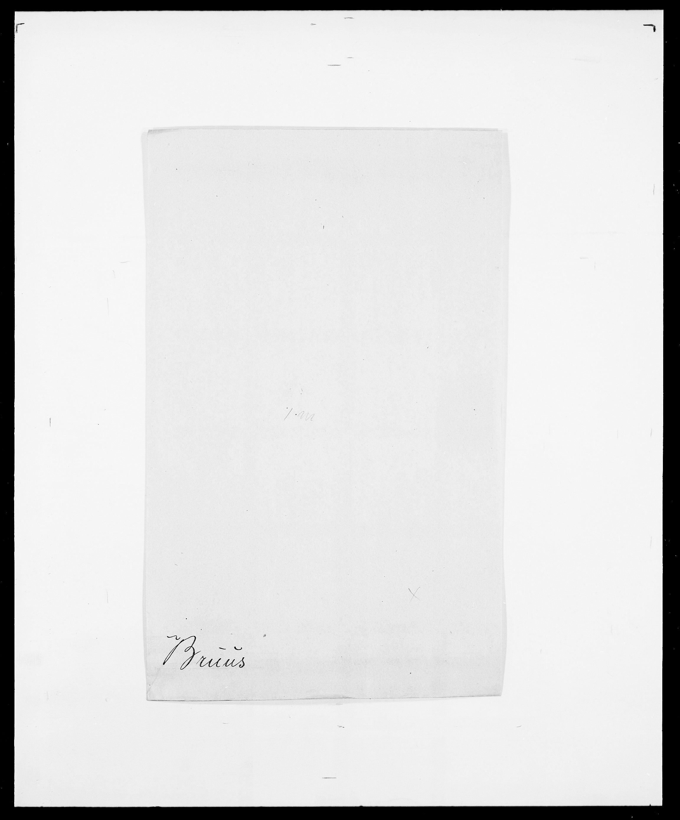 SAO, Delgobe, Charles Antoine - samling, D/Da/L0006: Brambani - Brønø, s. 891