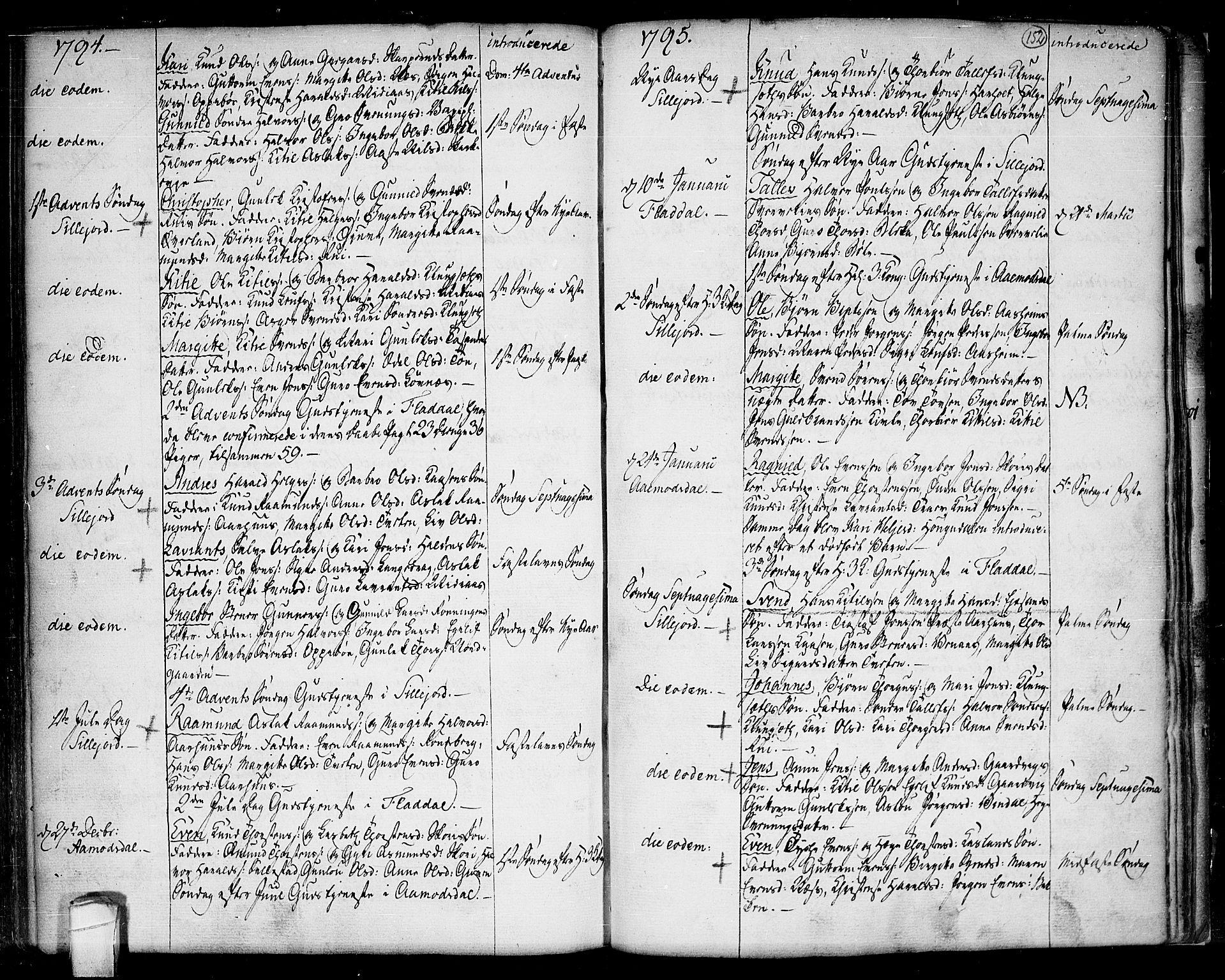 SAKO, Seljord kirkebøker, F/Fa/L0007: Ministerialbok nr. I 7, 1755-1800, s. 152