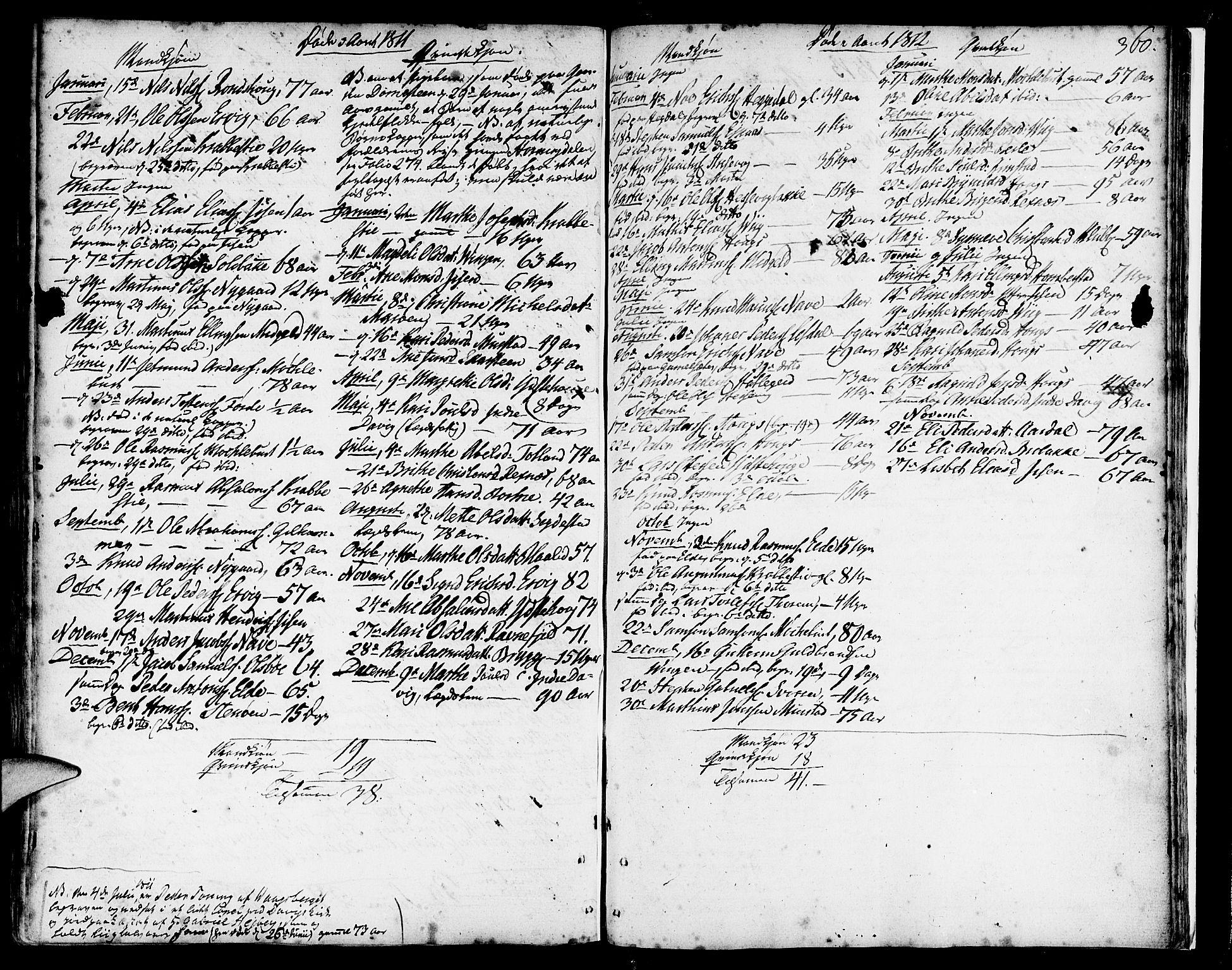 SAB, Davik Sokneprestembete, Ministerialbok nr. A 2, 1742-1816, s. 360