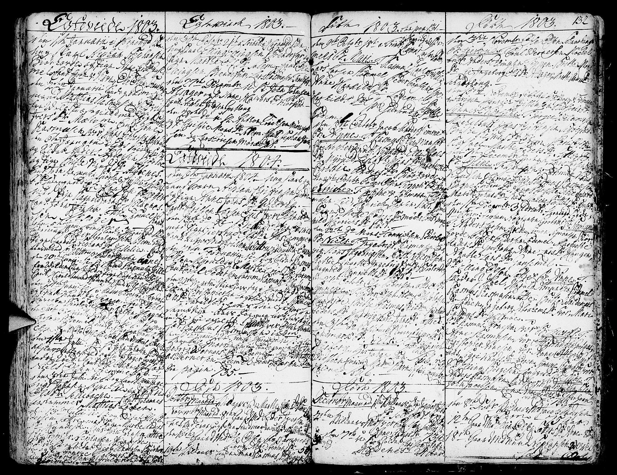 SAB, Eid Sokneprestembete, H/Haa: Ministerialbok nr. A 3, 1770-1805, s. 132