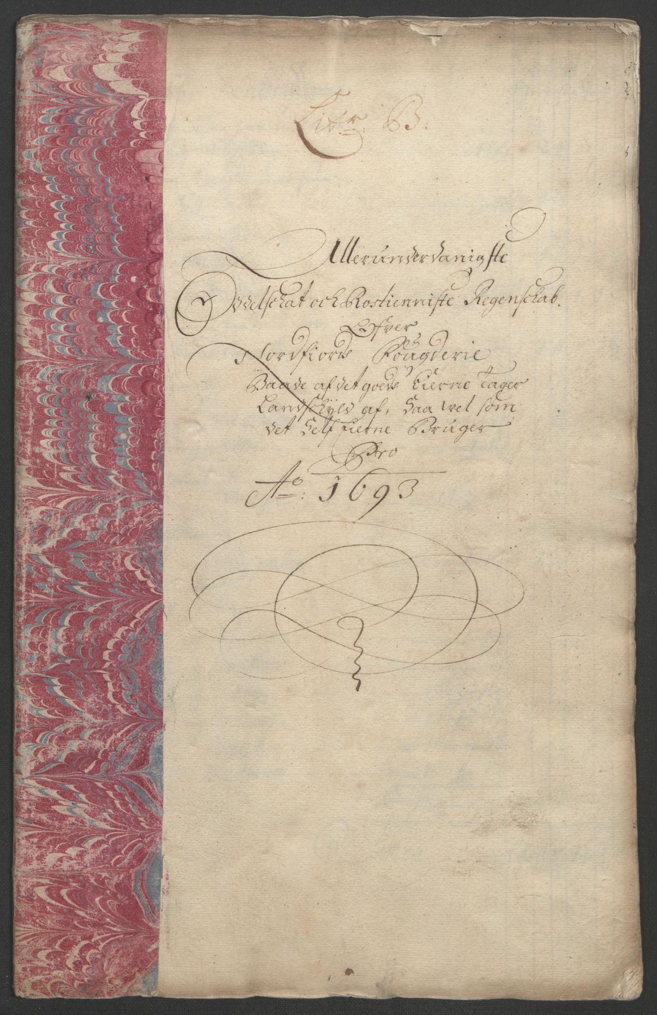 RA, Rentekammeret inntil 1814, Reviderte regnskaper, Fogderegnskap, R53/L3421: Fogderegnskap Sunn- og Nordfjord, 1693-1694, s. 161