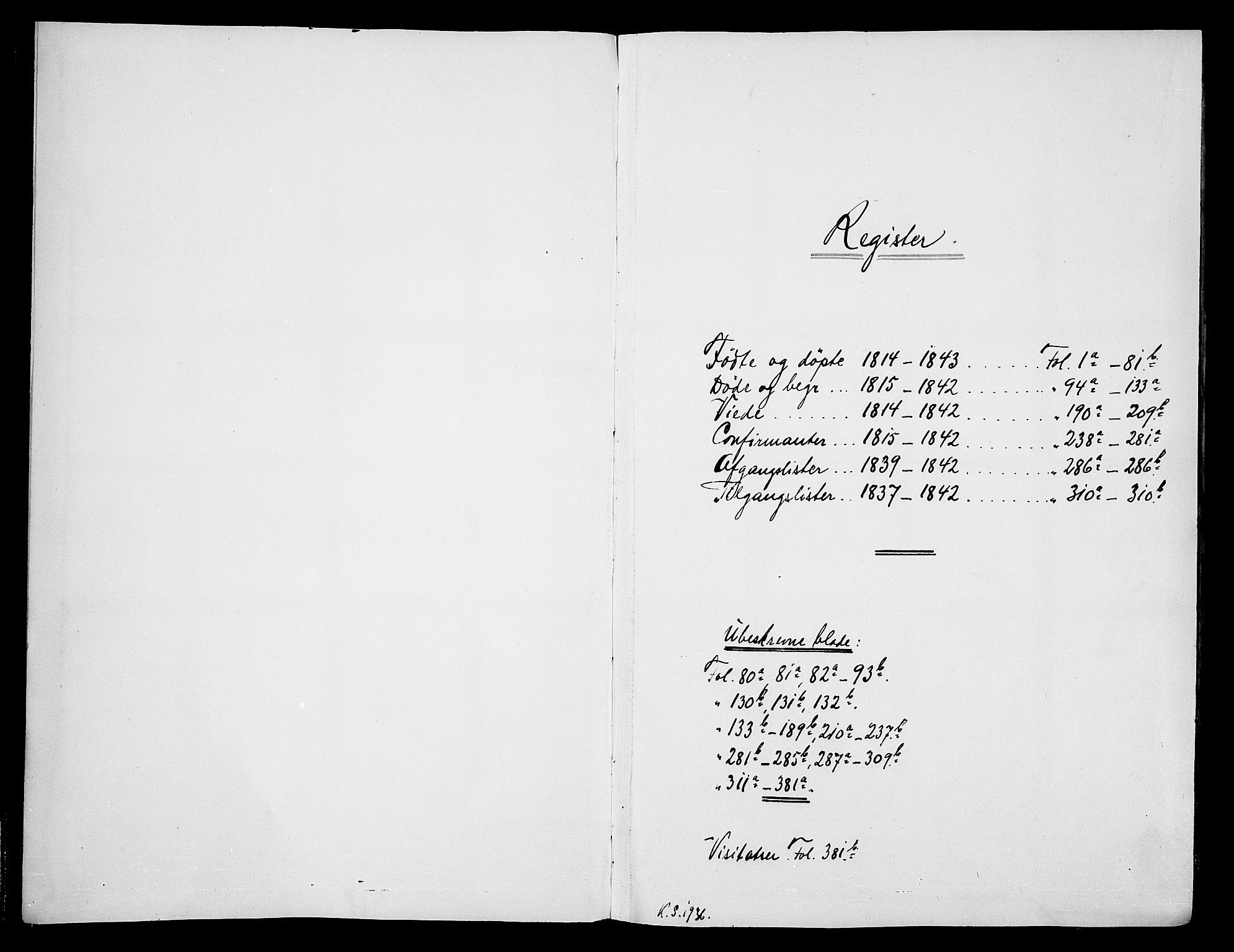 SAKO, Skien kirkebøker, F/Fa/L0005: Ministerialbok nr. 5, 1814-1843