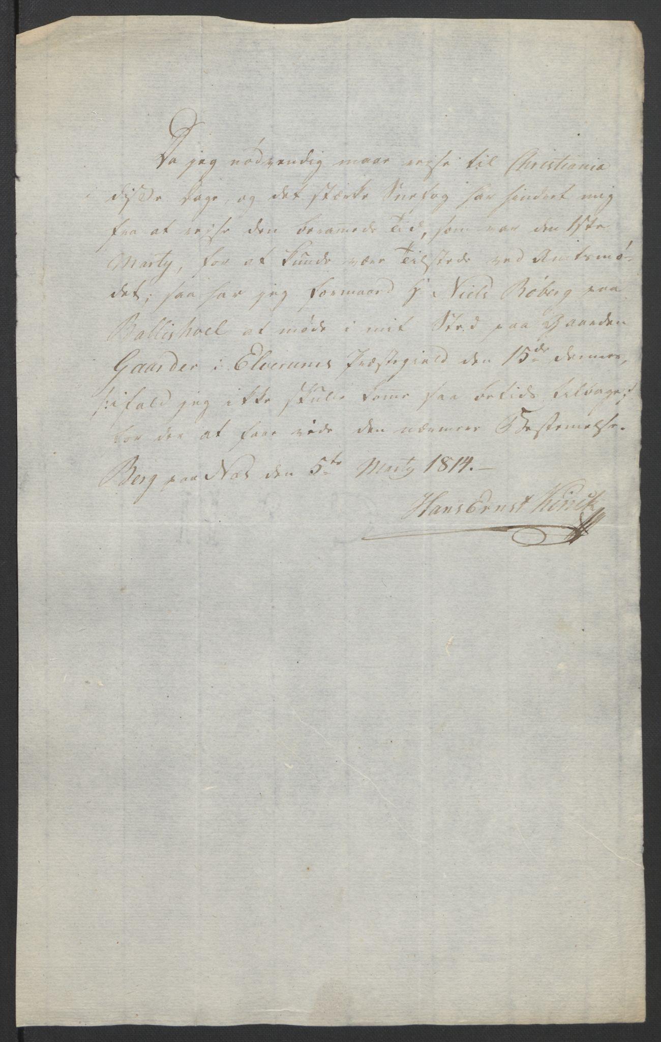 RA, Statsrådssekretariatet, D/Db/L0007: Fullmakter for Eidsvollsrepresentantene i 1814. , 1814, s. 229