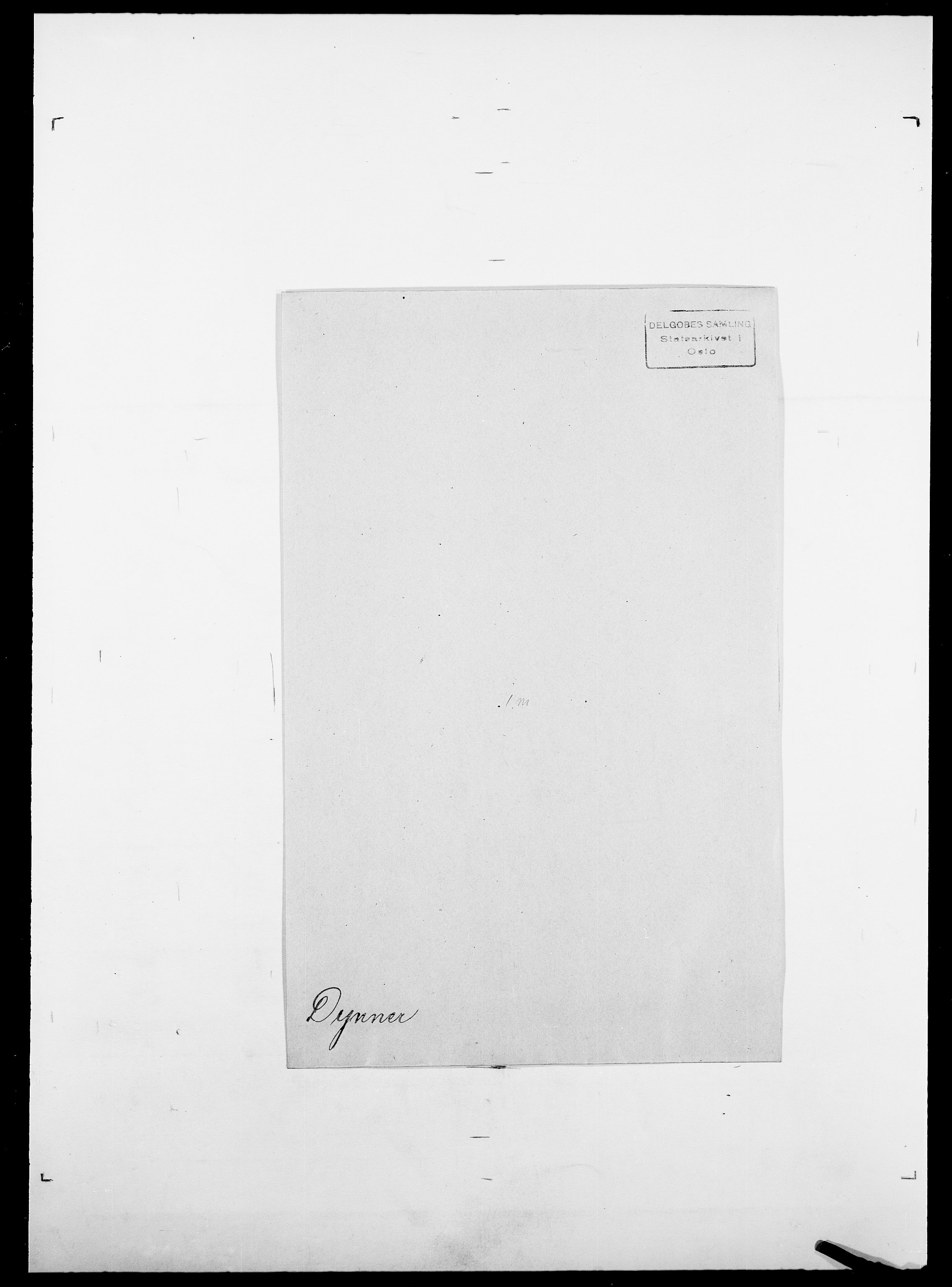 SAO, Delgobe, Charles Antoine - samling, D/Da/L0009: Dahl - v. Düren, s. 903