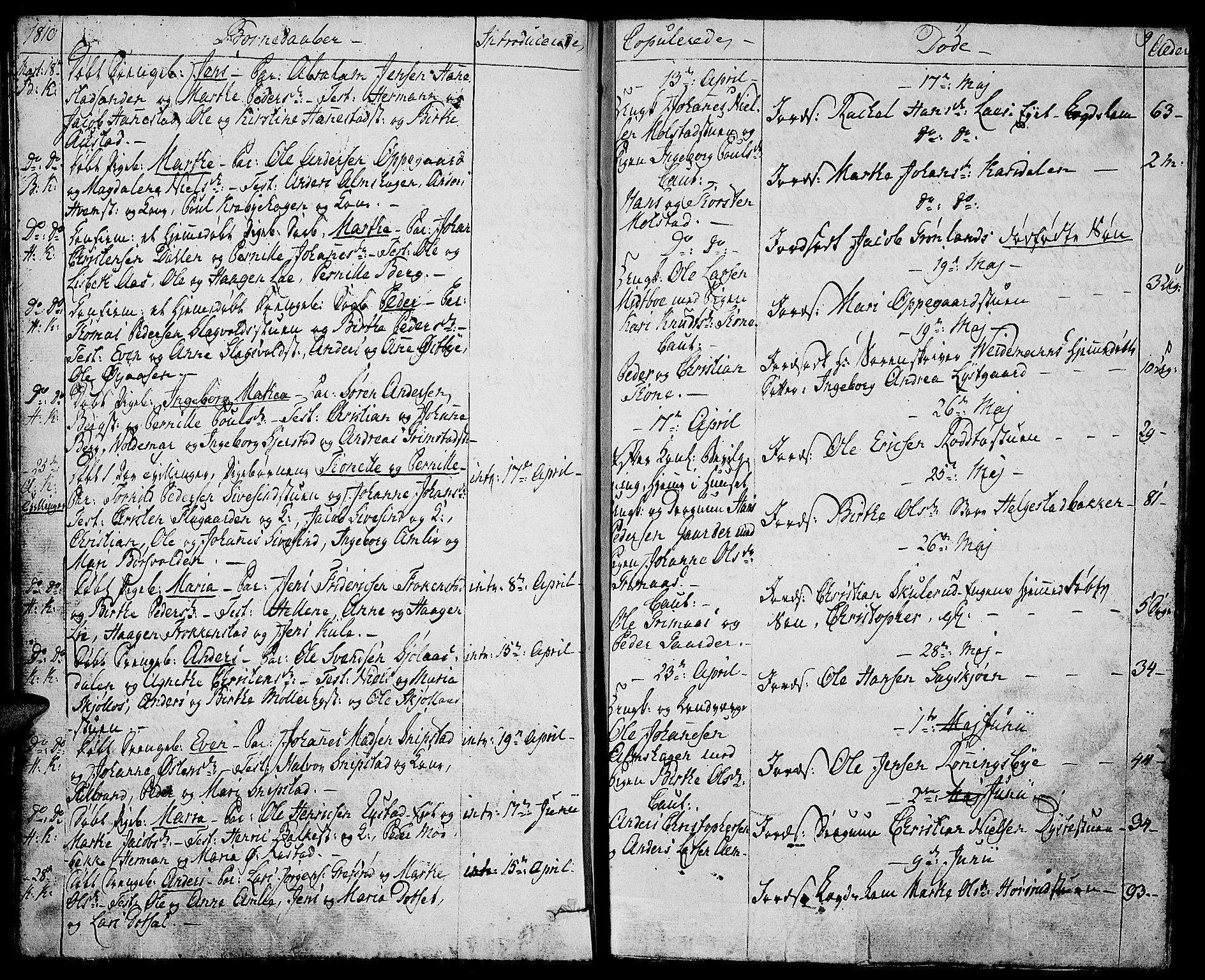 SAH, Toten prestekontor, Ministerialbok nr. 8, 1809-1814, s. 9