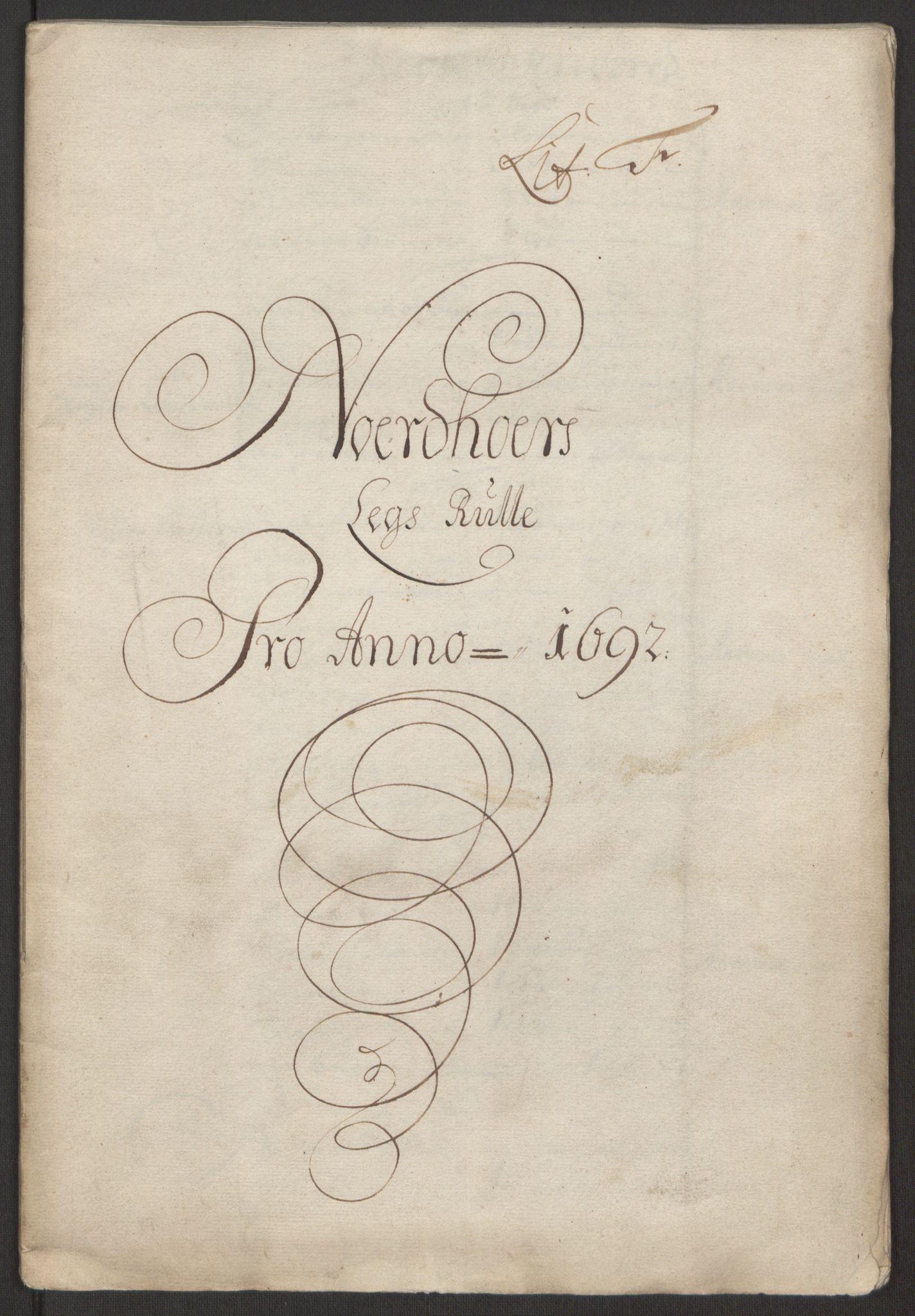 RA, Rentekammeret inntil 1814, Reviderte regnskaper, Fogderegnskap, R51/L3181: Fogderegnskap Nordhordland og Voss, 1691-1692, s. 324