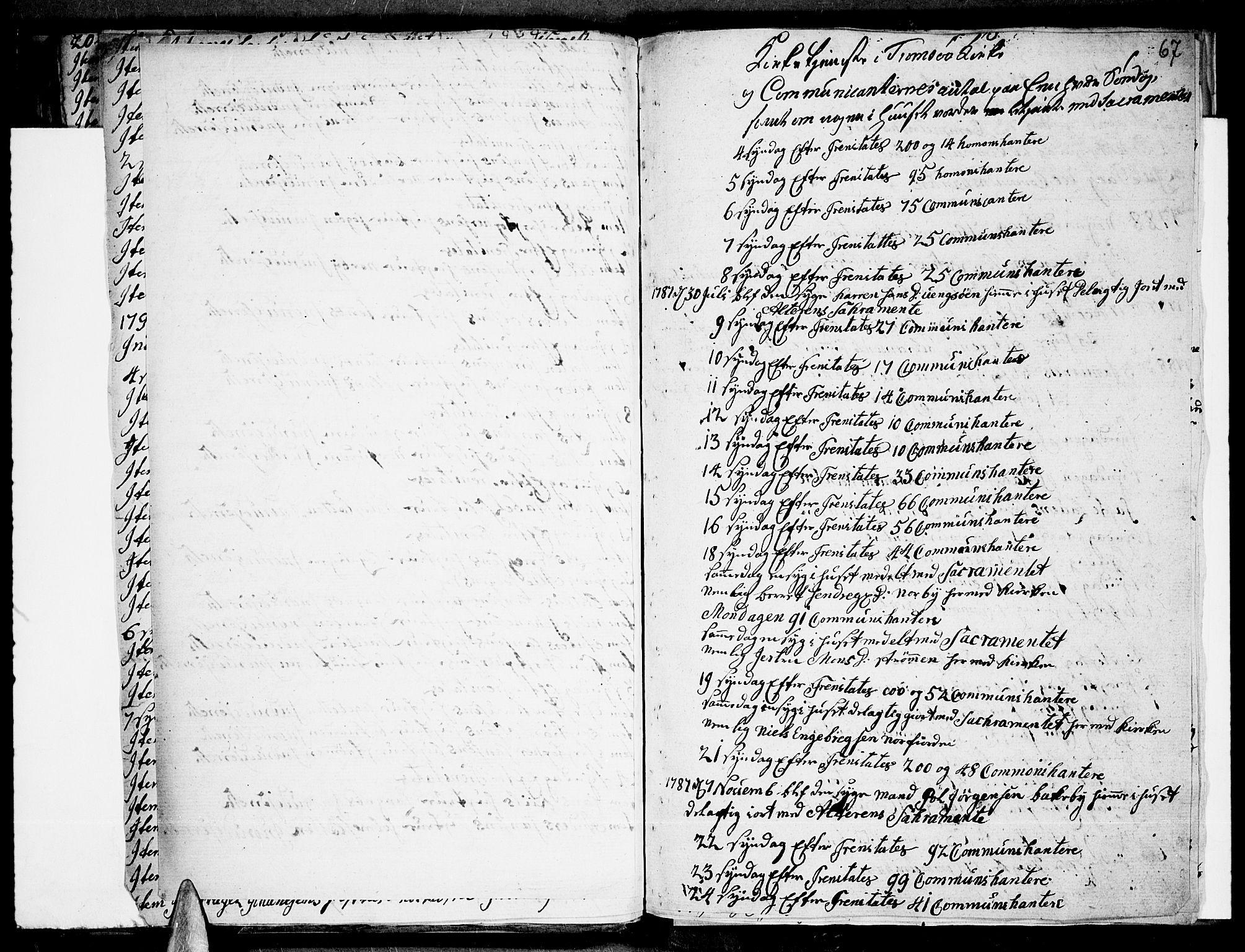 SATØ, Tromsø sokneprestkontor/stiftsprosti/domprosti, G/Ga/L0004kirke: Ministerialbok nr. 4, 1787-1795, s. 67