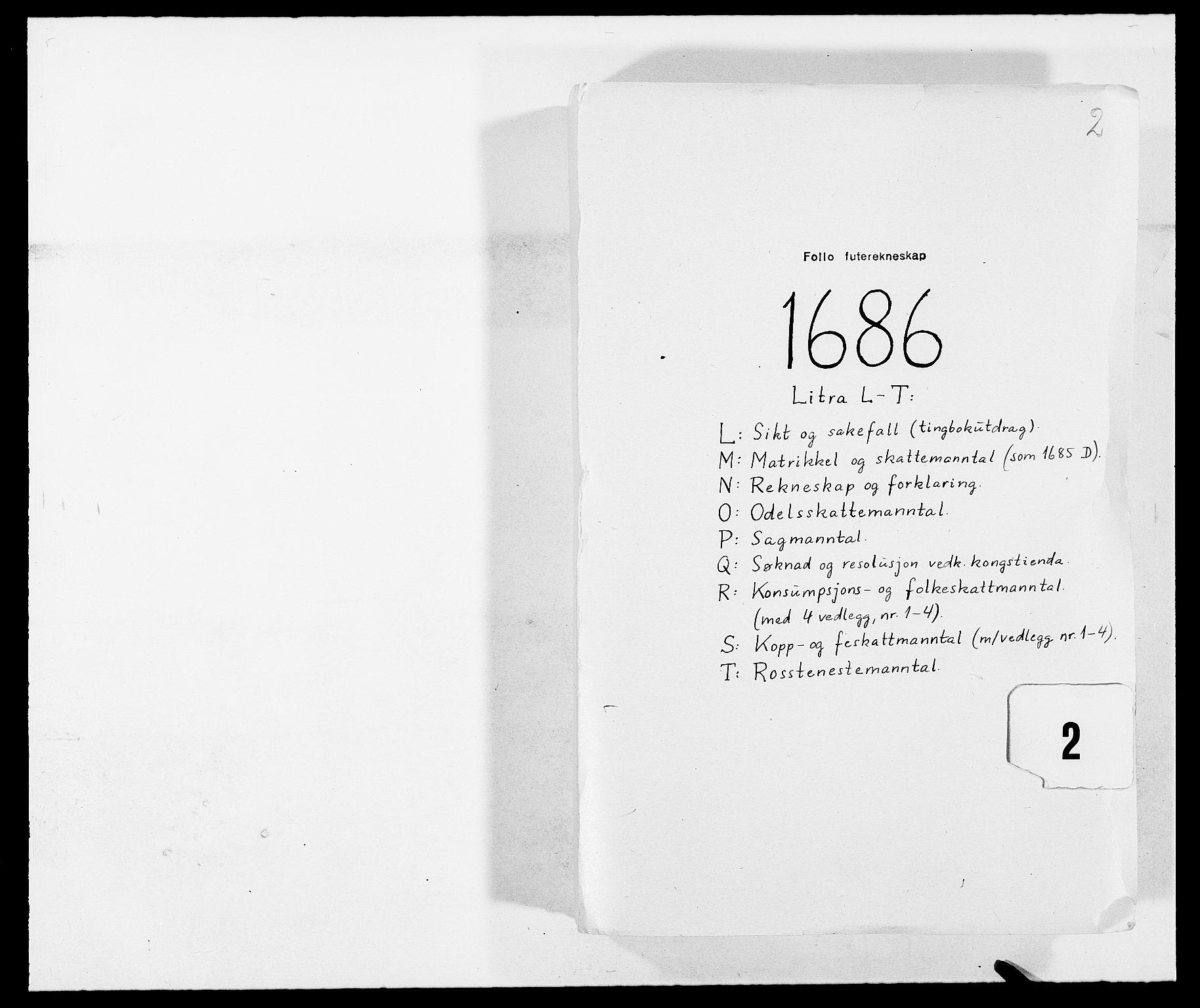 RA, Rentekammeret inntil 1814, Reviderte regnskaper, Fogderegnskap, R09/L0433: Fogderegnskap Follo, 1685-1686, s. 236