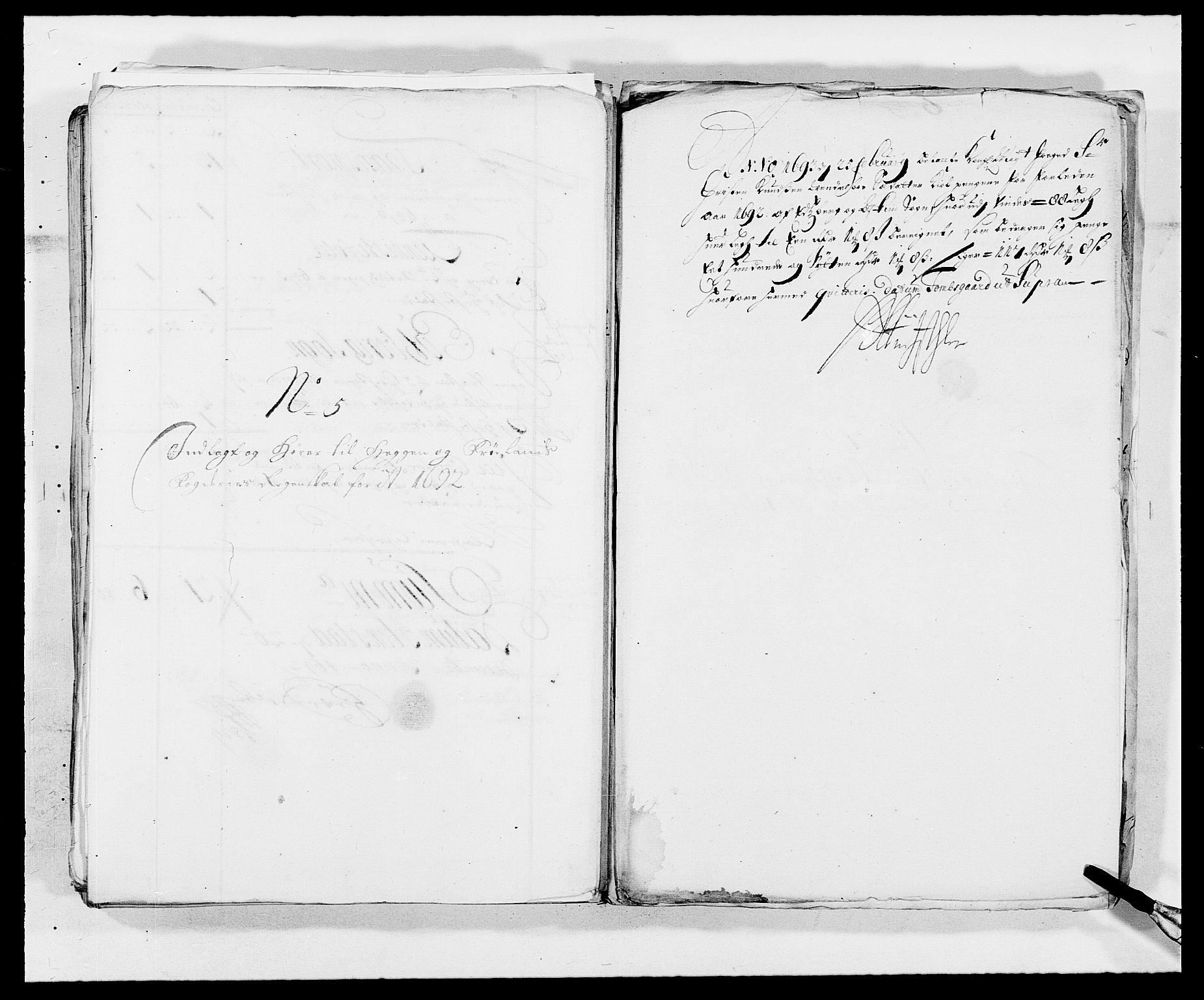 RA, Rentekammeret inntil 1814, Reviderte regnskaper, Fogderegnskap, R06/L0283: Fogderegnskap Heggen og Frøland, 1691-1693, s. 265