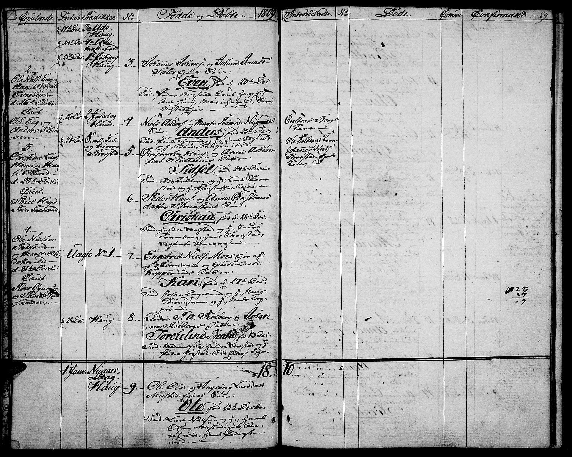SAH, Vardal prestekontor, H/Ha/Haa/L0003: Ministerialbok nr. 3, 1808-1814, s. 28-29