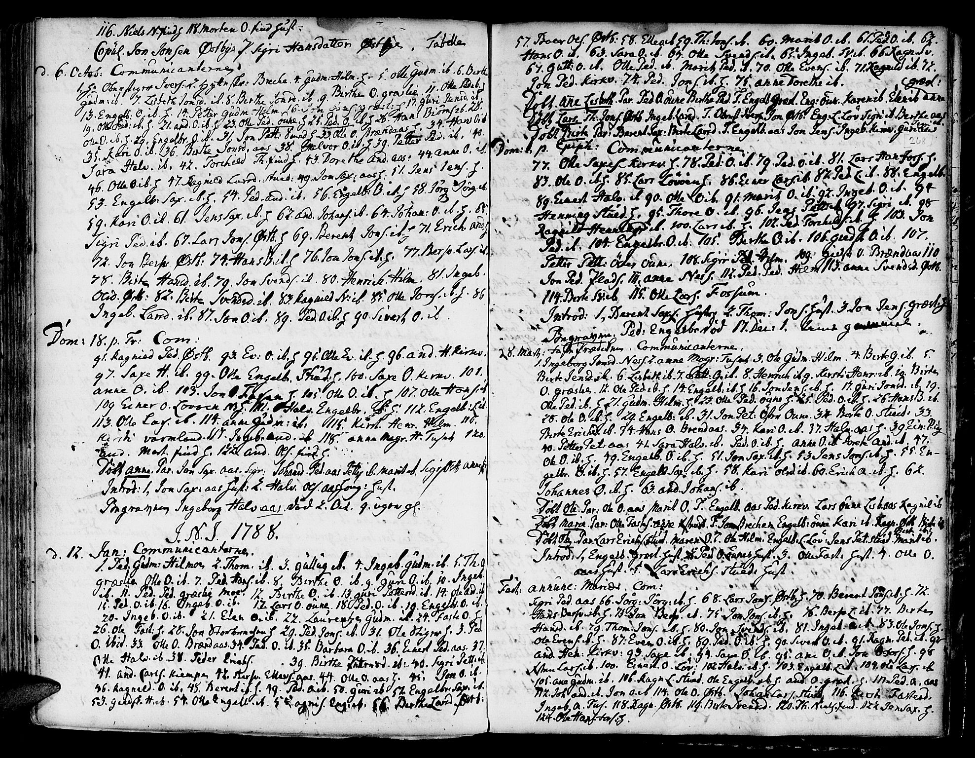SAT, Ministerialprotokoller, klokkerbøker og fødselsregistre - Sør-Trøndelag, 695/L1139: Ministerialbok nr. 695A02 /2, 1776-1790, s. 268