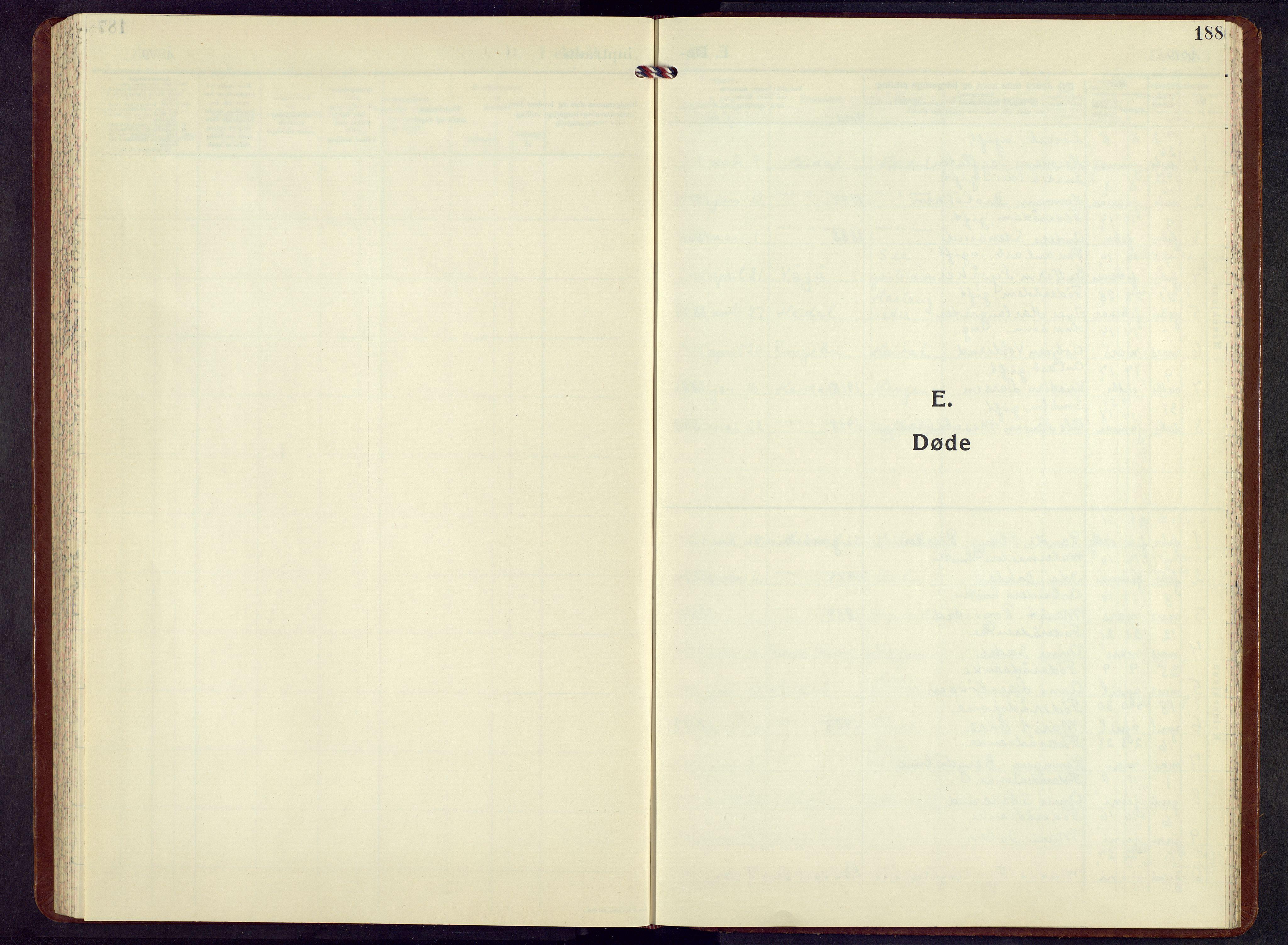 SAH, Sel prestekontor, Klokkerbok nr. 7, 1953-1973, s. 188
