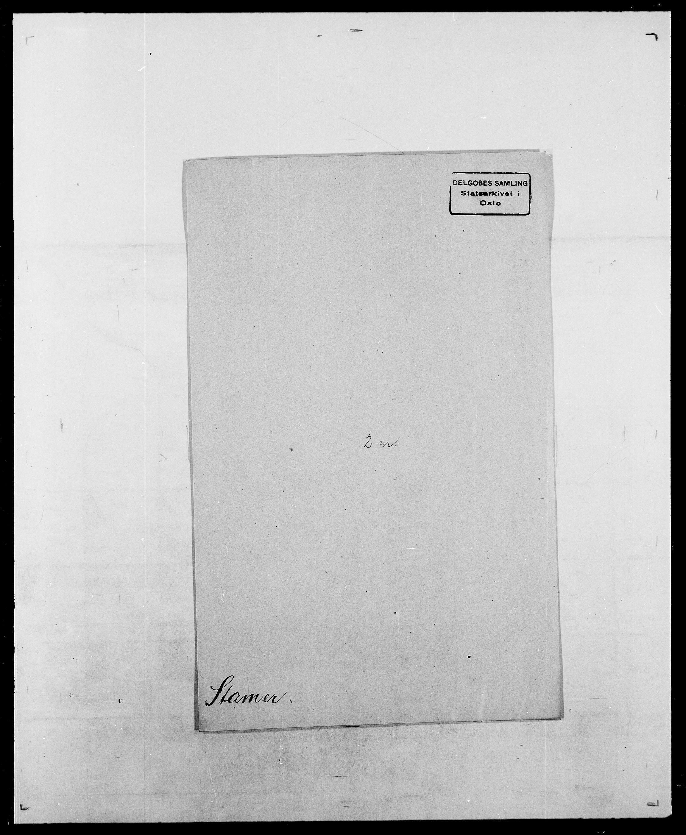 SAO, Delgobe, Charles Antoine - samling, D/Da/L0036: Skaanør - Staverskov, s. 937