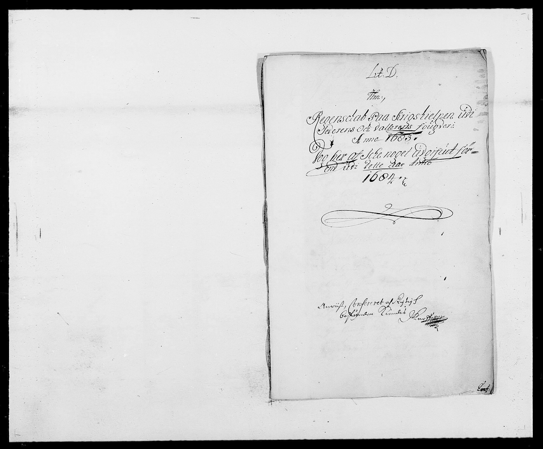 RA, Rentekammeret inntil 1814, Reviderte regnskaper, Fogderegnskap, R46/L2724: Fogderegnskap Jæren og Dalane, 1682-1684, s. 58