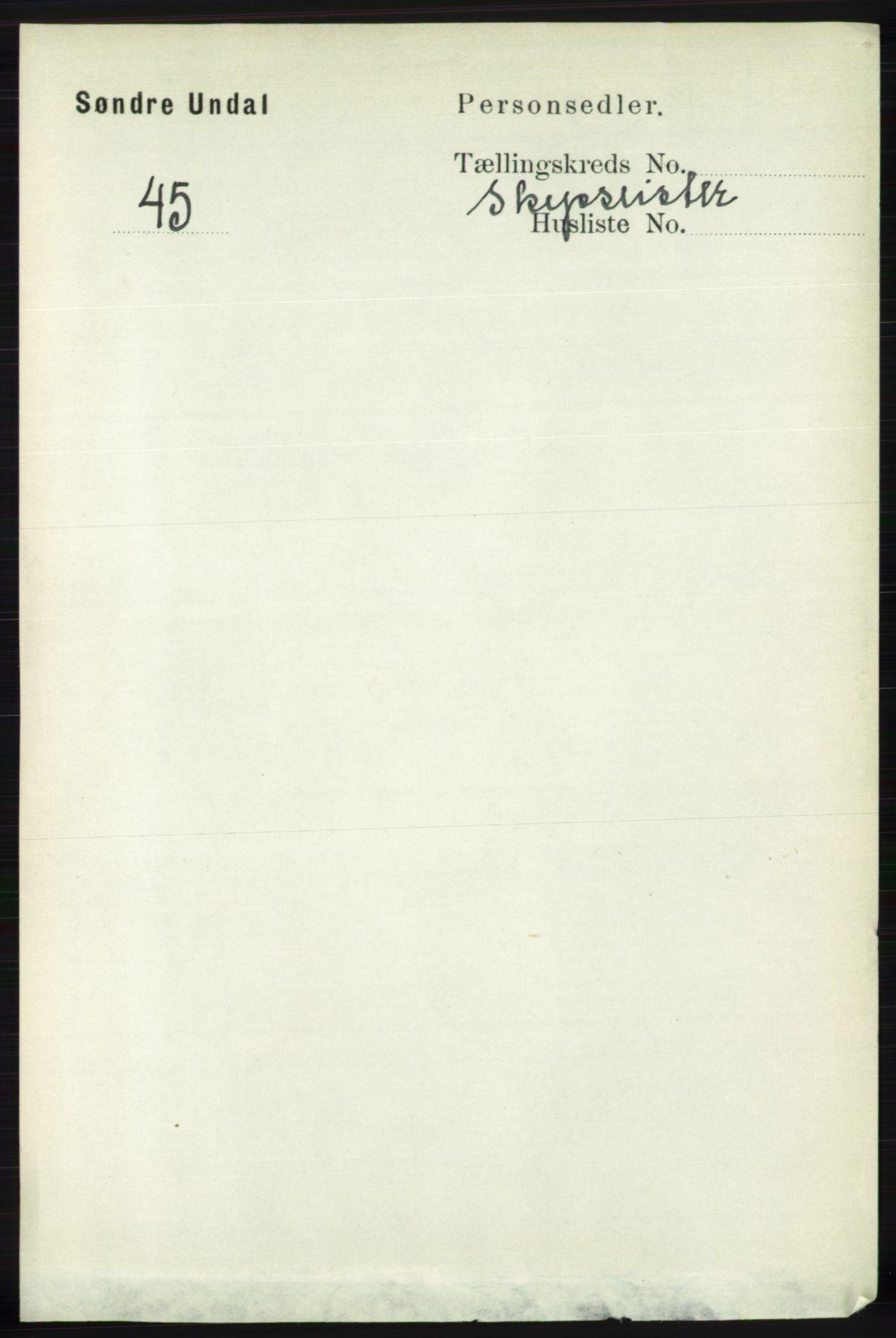 RA, Folketelling 1891 for 1029 Sør-Audnedal herred, 1891, s. 6034