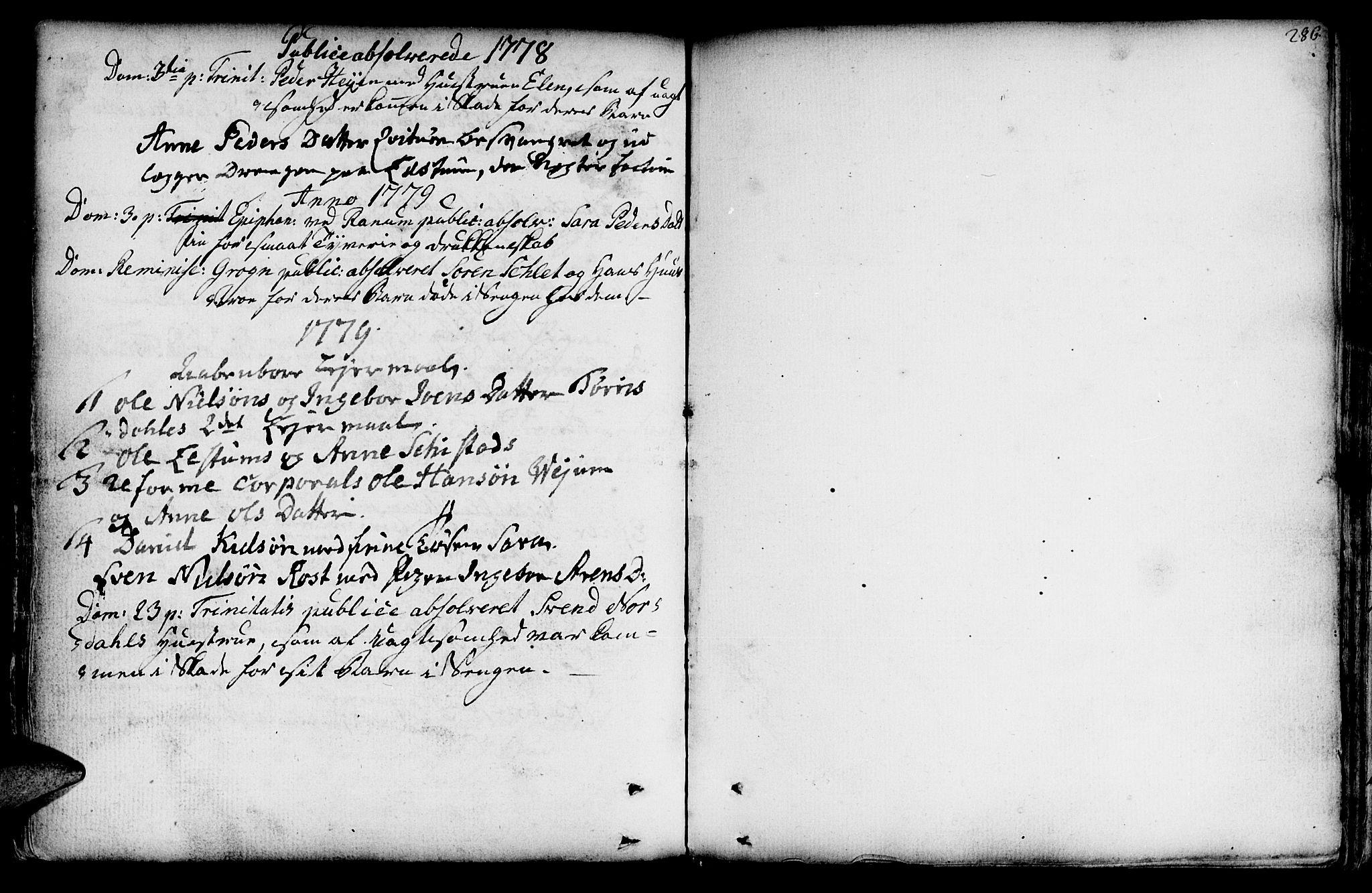 SAT, Ministerialprotokoller, klokkerbøker og fødselsregistre - Nord-Trøndelag, 764/L0542: Ministerialbok nr. 764A02, 1748-1779, s. 286