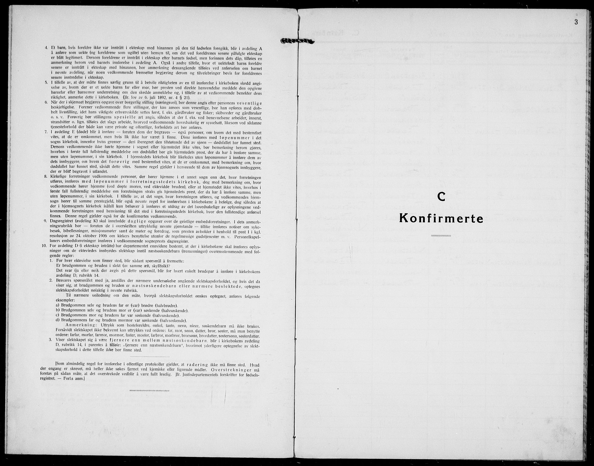 SAKO, Hjartdal kirkebøker, F/Fc/L0003: Ministerialbok nr. III 3, 1931-1936, s. 3