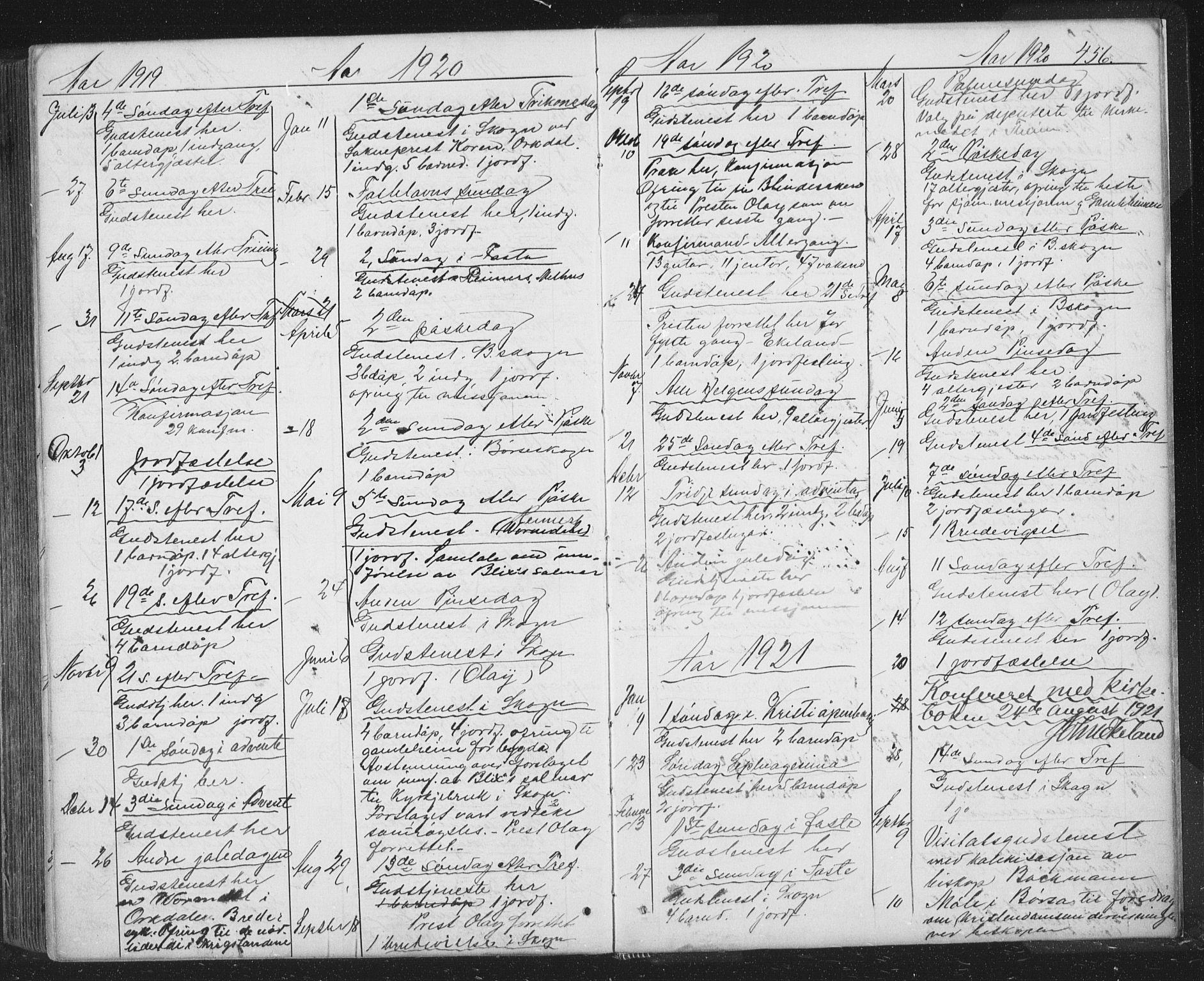SAT, Ministerialprotokoller, klokkerbøker og fødselsregistre - Sør-Trøndelag, 667/L0798: Klokkerbok nr. 667C03, 1867-1929, s. 456